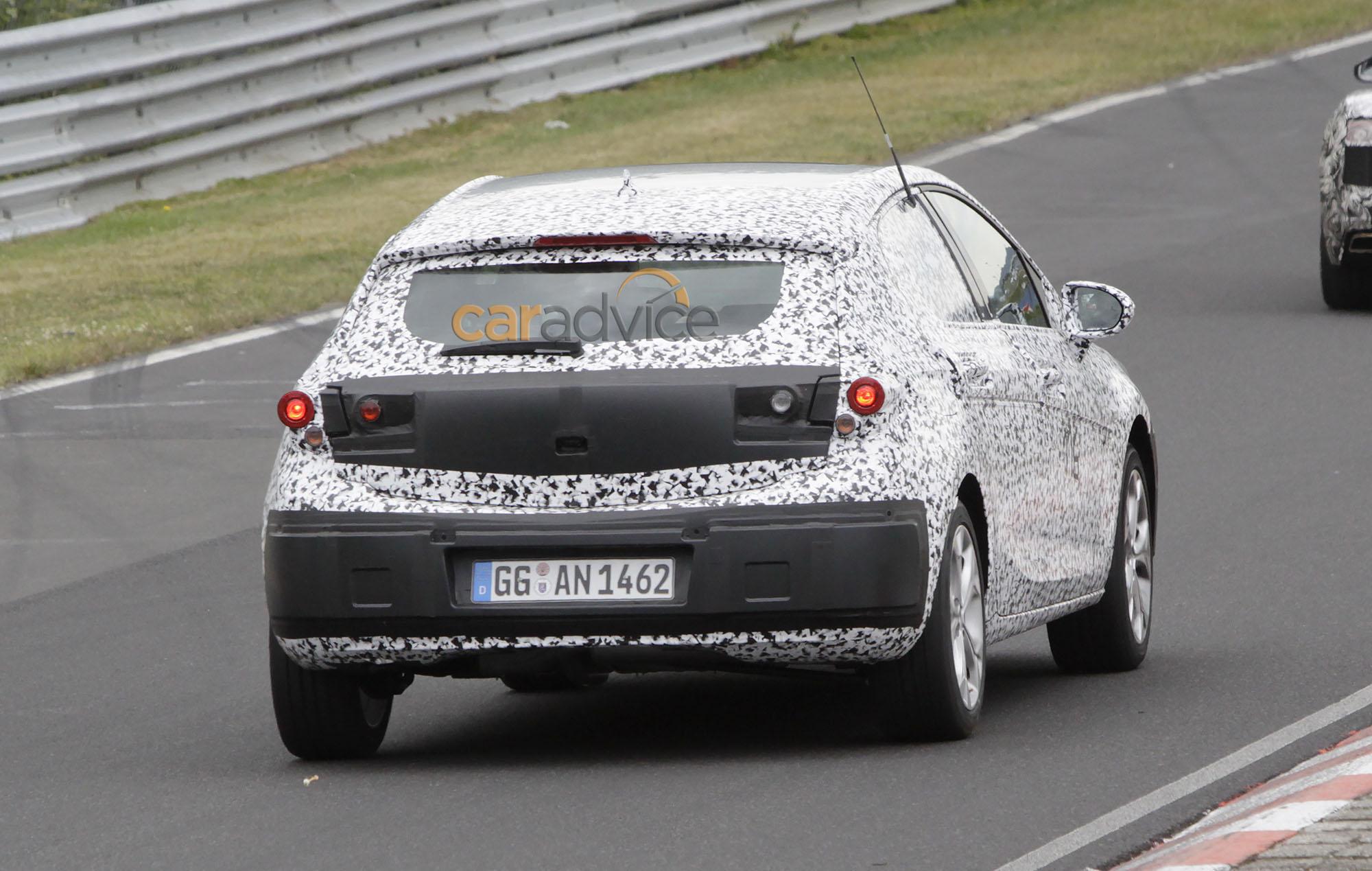 2015 Opel Astra interior spied at Nurburgring - photos ...