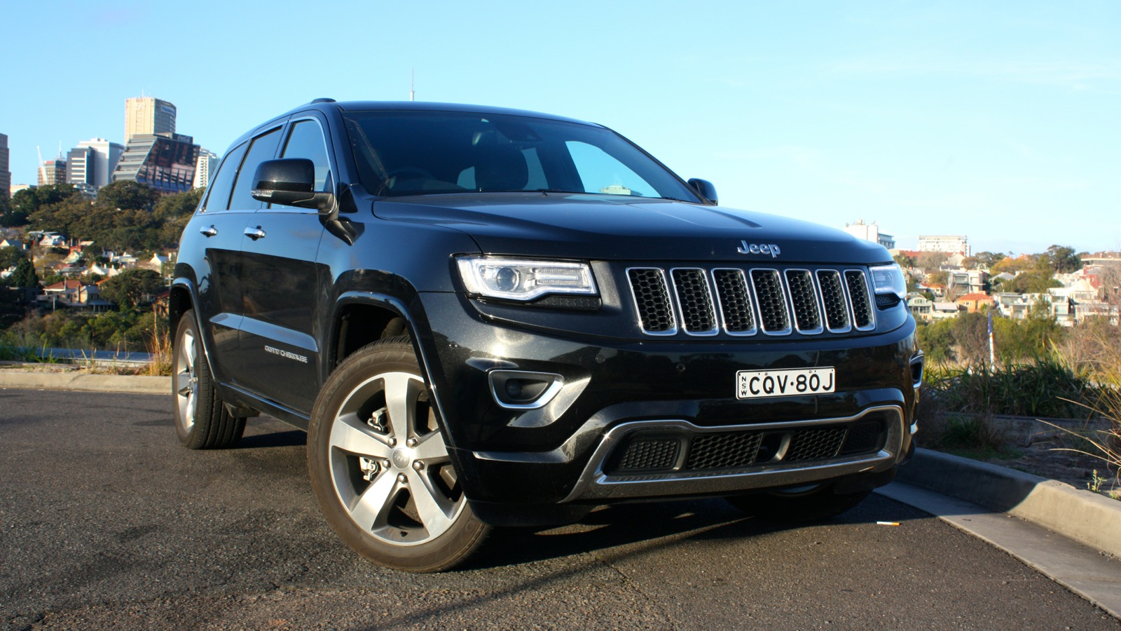 jeep grand cherokee overland long term review one caradvice. Black Bedroom Furniture Sets. Home Design Ideas