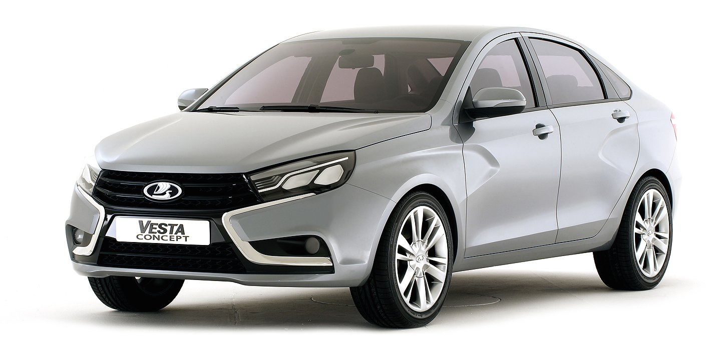 Lada Vesta X Ray Concepts Preview New Compact Russian