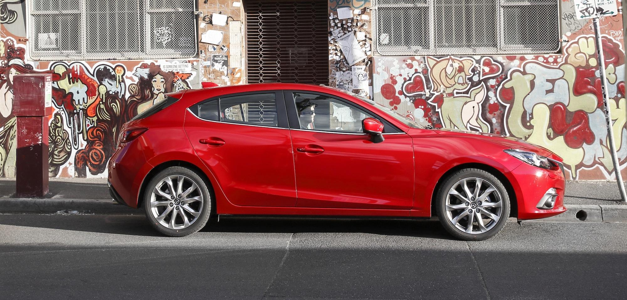 Mazda 3 Review Xd Astina Diesel Photos Caradvice
