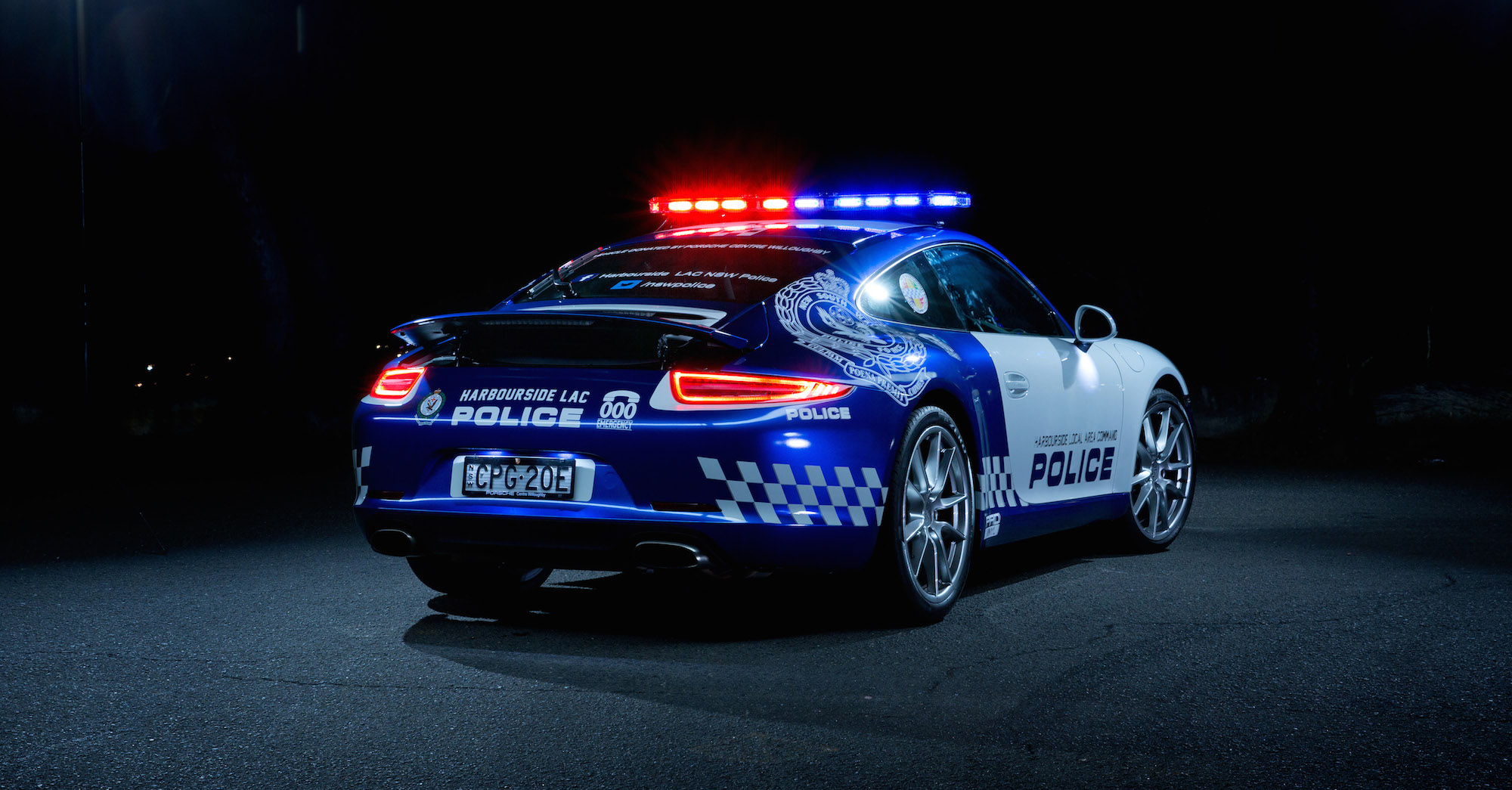 Porsche 911 Cop Car Goes On Nsw Patrol Photos Caradvice