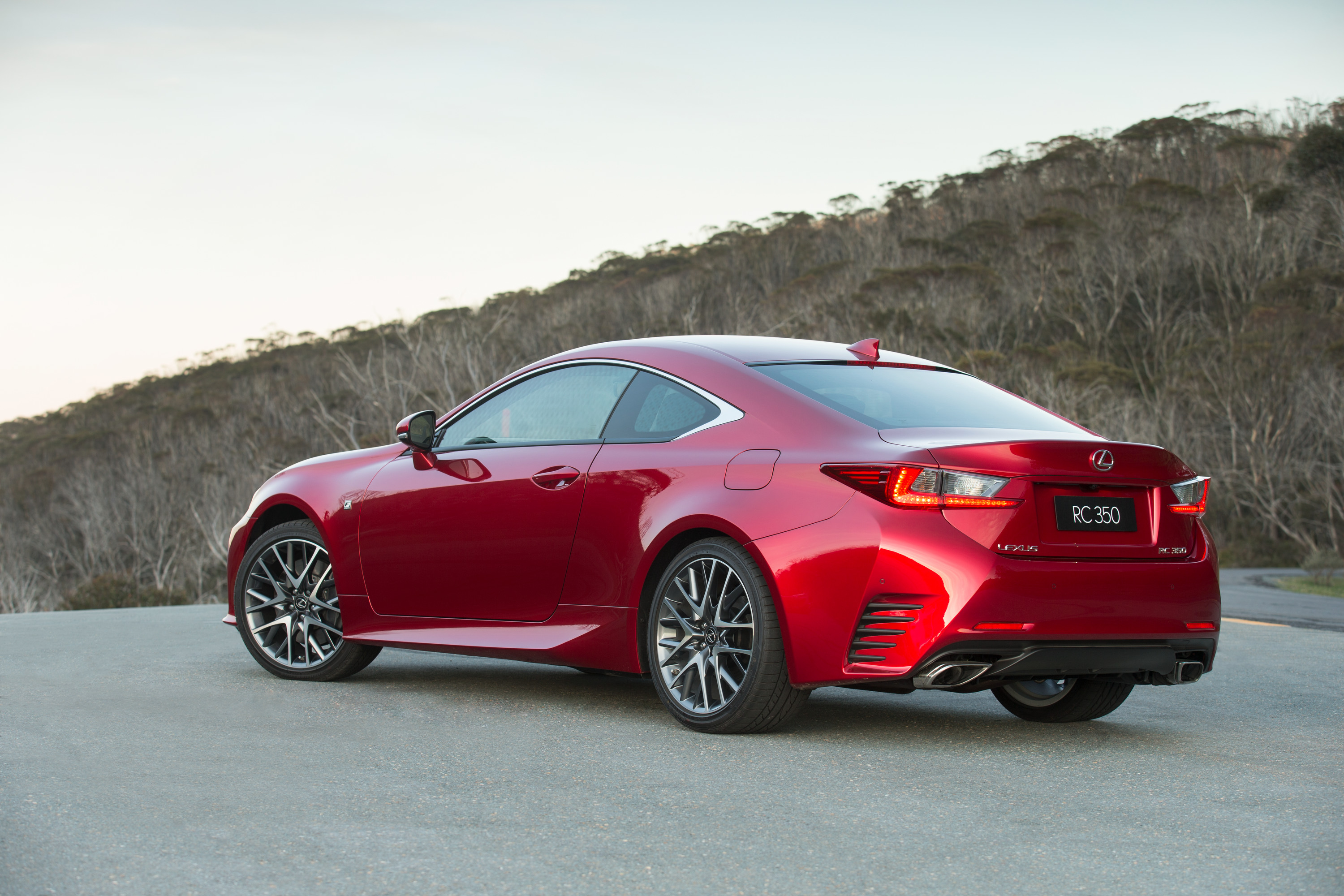 2018 Honda Civic Type R Specs >> Lexus RC350 coupe lands from a sharp $66K - photos | CarAdvice