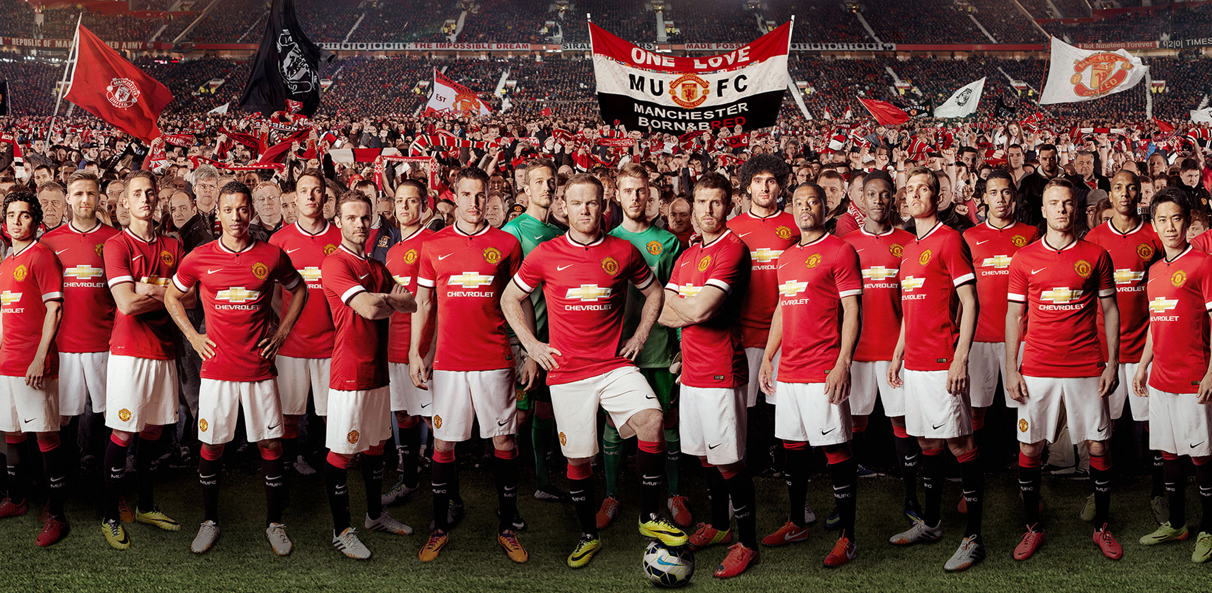Manchester United players forgoing free fleet of Chevrolet ...