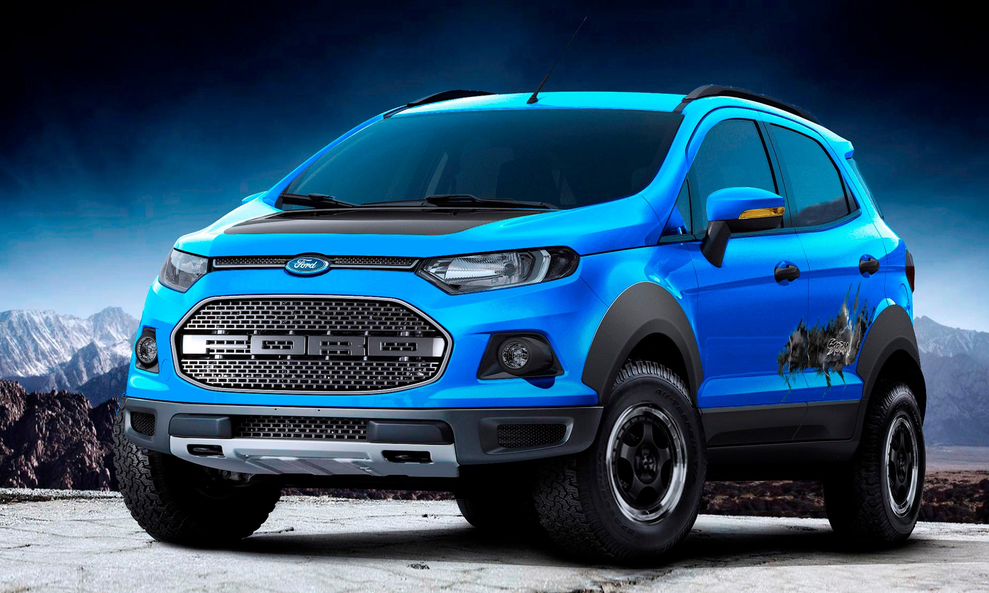 Ford EcoSport Beauty, The Beast and Storm concepts head to Sao Paulo - photos | CarAdvice