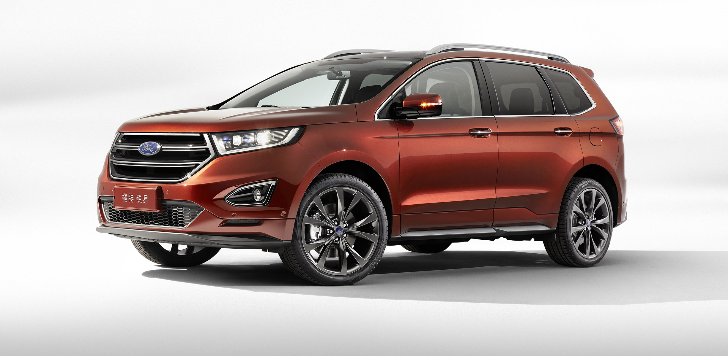 Seven-seat Ford Edge unveiled in China - photos | CarAdvice
