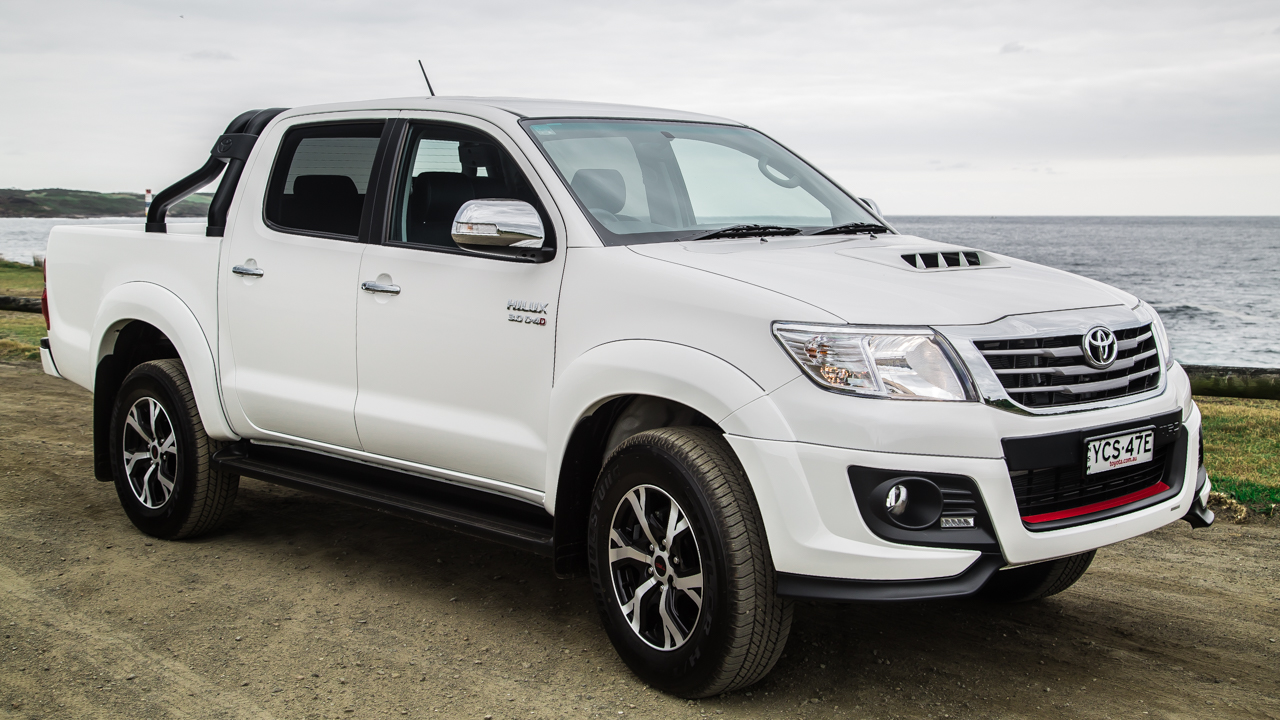 2015 Toyota Hilux Review Black Edition Caradvice