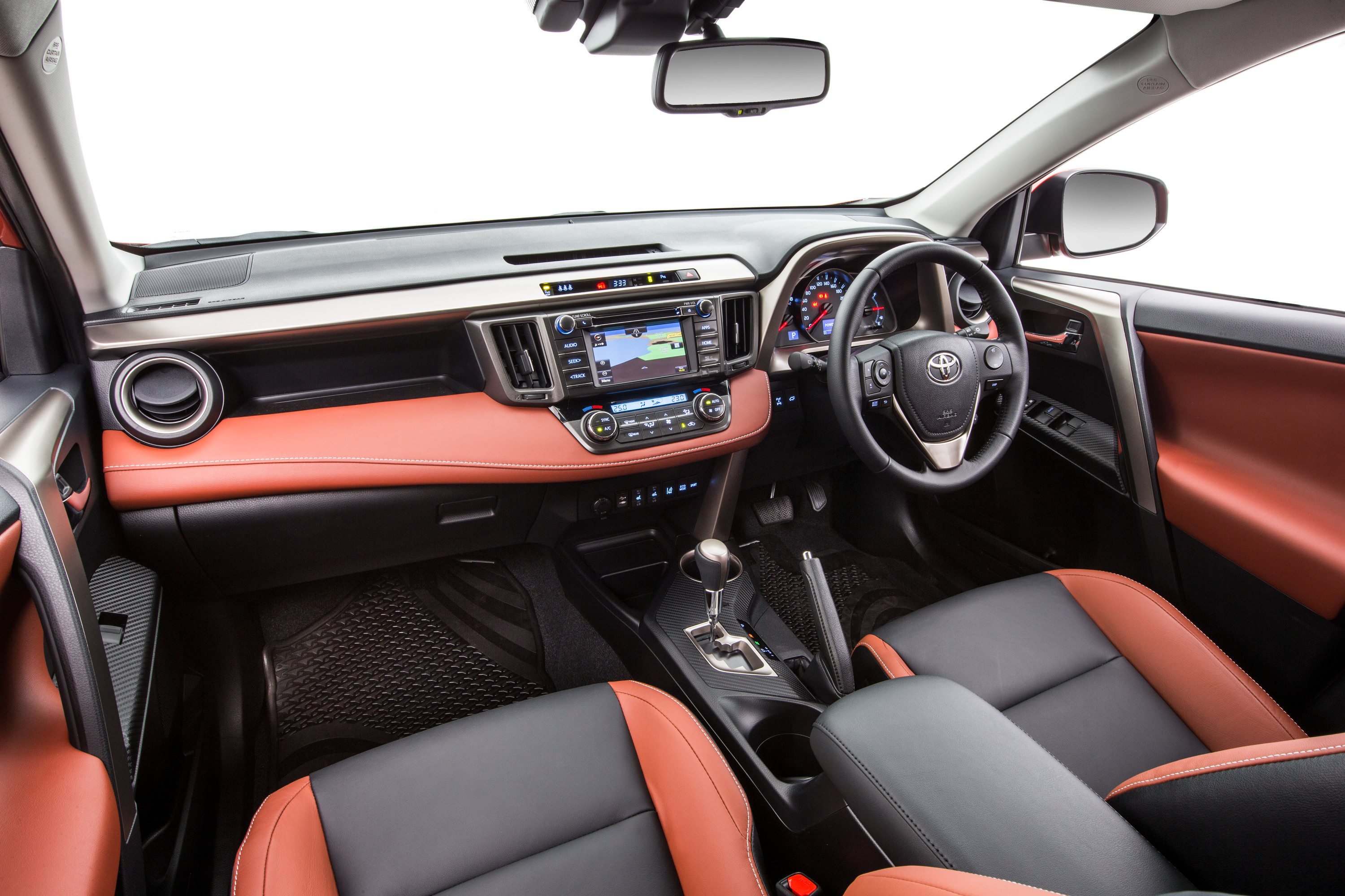 Toyota Rav4 Interior >> Toyota RAV4 goes red for record - photos | CarAdvice