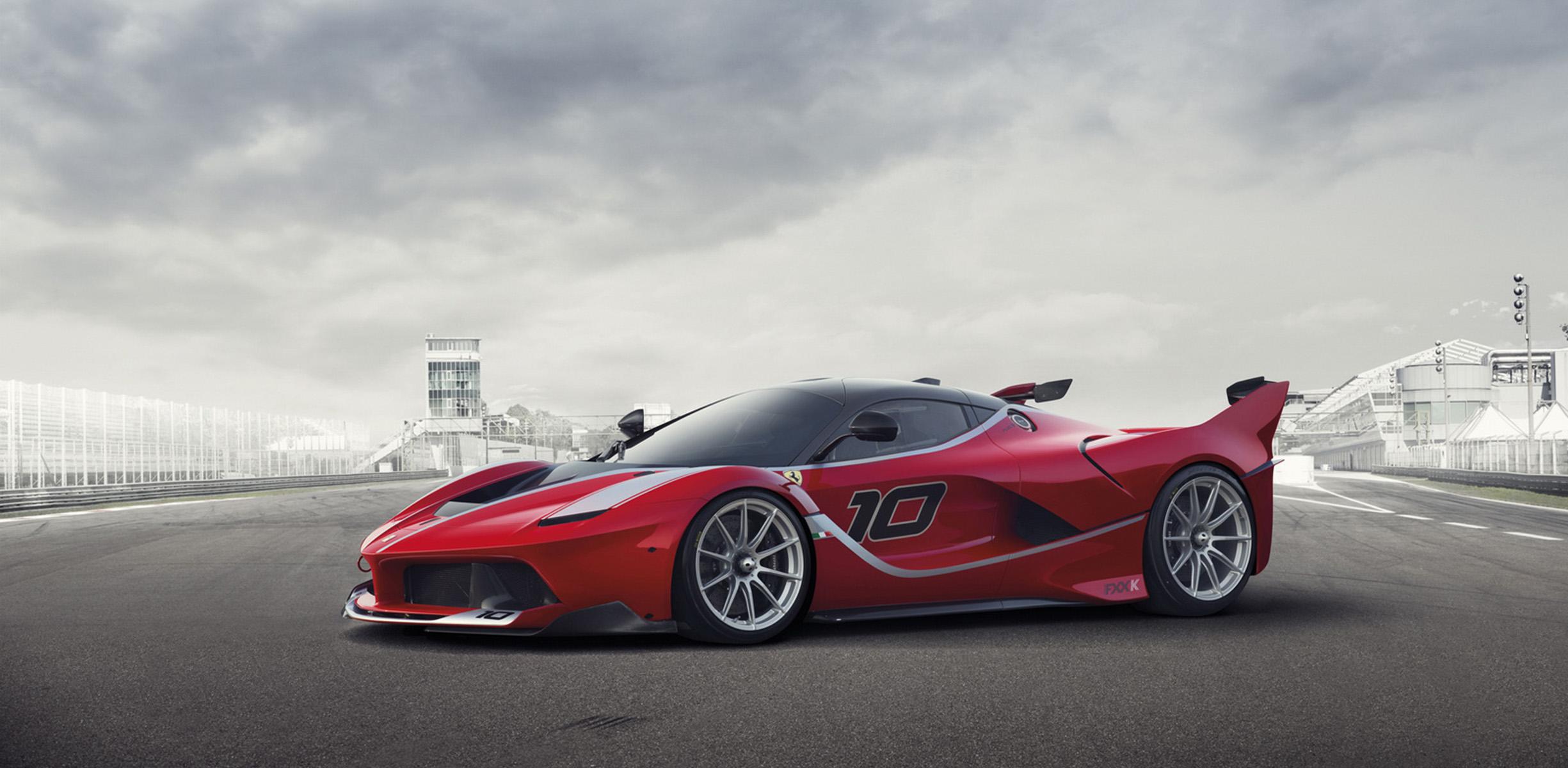 Ferrari Fxx K 772kw Track Only Version Of The Hybrid