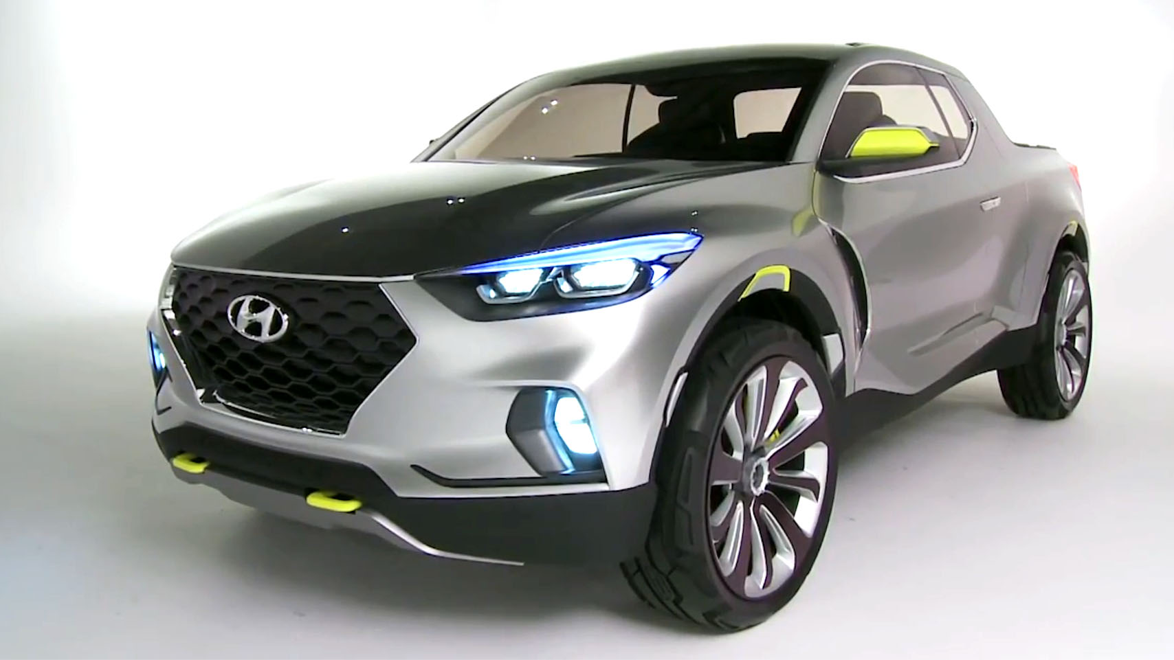 Hyundai Santa Cruz Ute Set For Production Photos Caradvice
