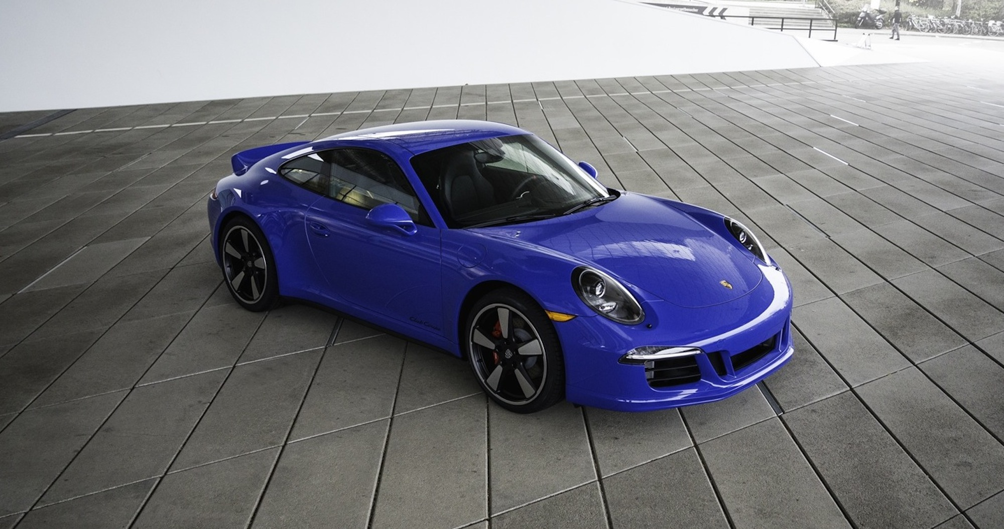 Porsche 911 Gts Club Coupe Limited Edition Model Marks 60