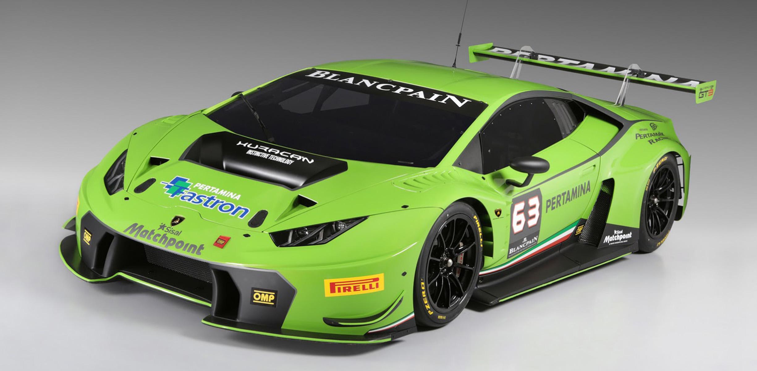 Lamborghini Huracan GT3: Rear Wheel Drive Racing Coupe Unveiled