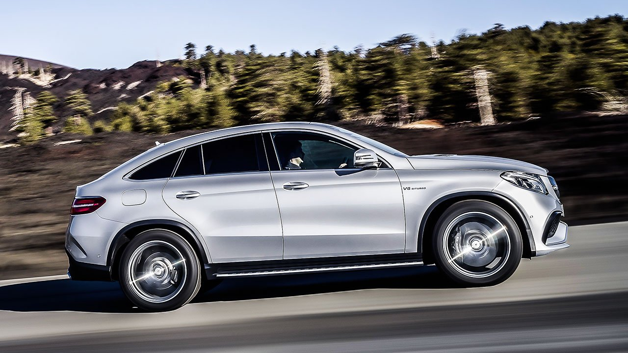 Mercedes benz gle coupe could have beaten bmw x6 to market for 2018 mercedes benz gle