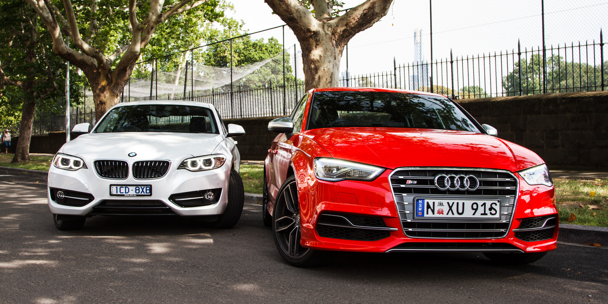 Audi S3 Sedan V Bmw 228i Coupe Comparison Review