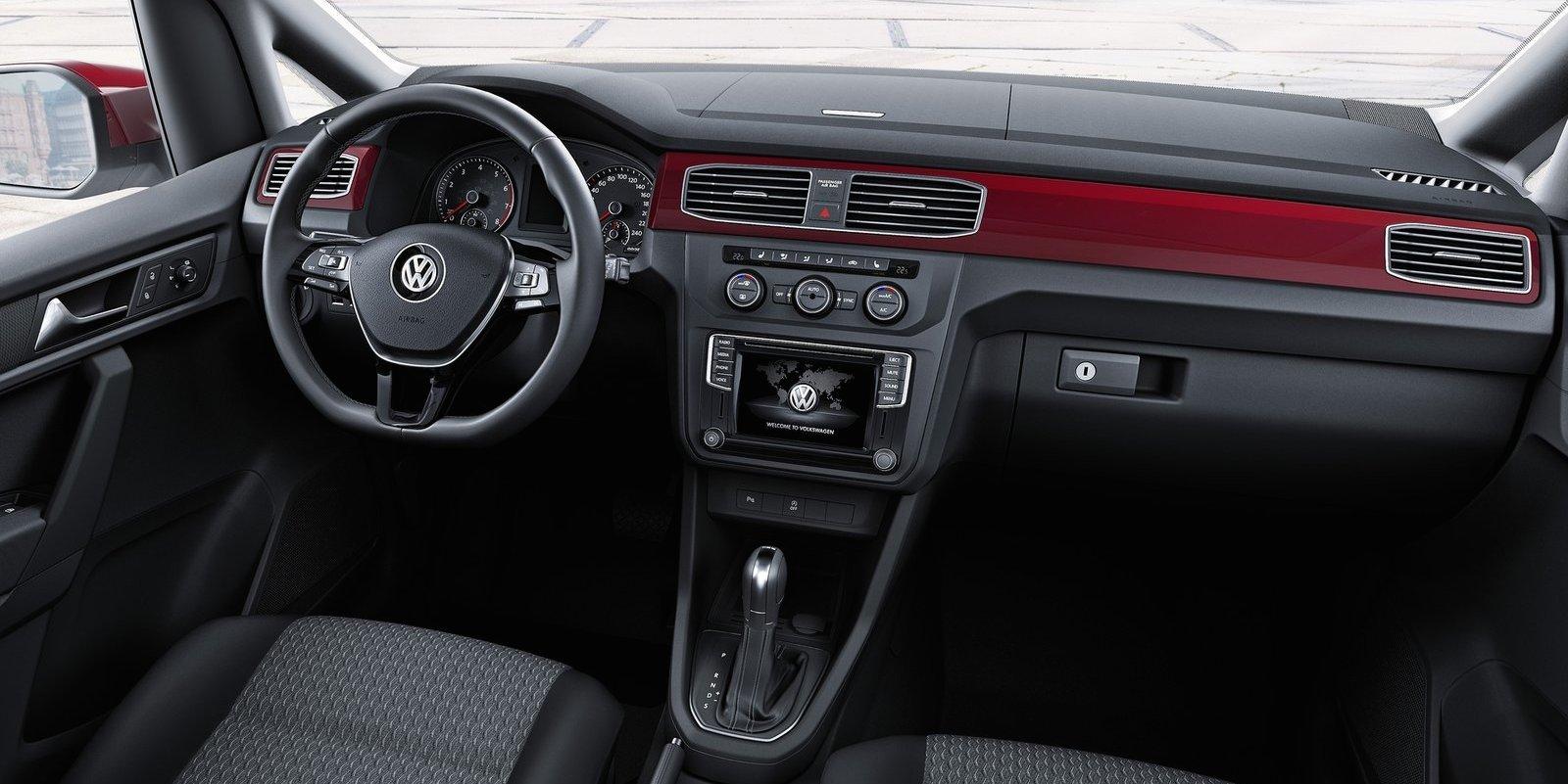 2016 Volkswagen Caddy Revealed - Photos