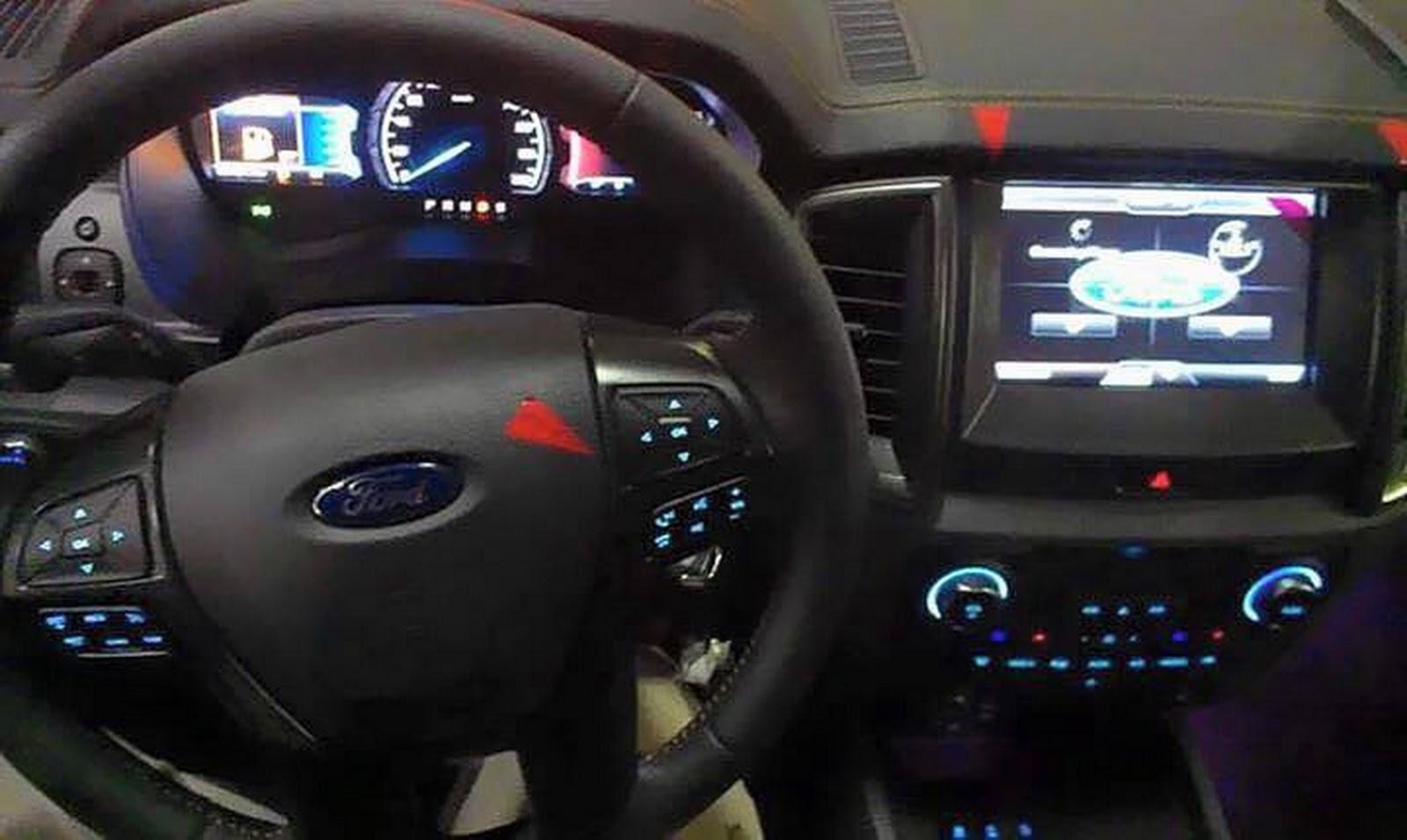 2015 Toyota Supra Price >> 2015 Ford Ranger Wildtrak exterior and interior spied ...