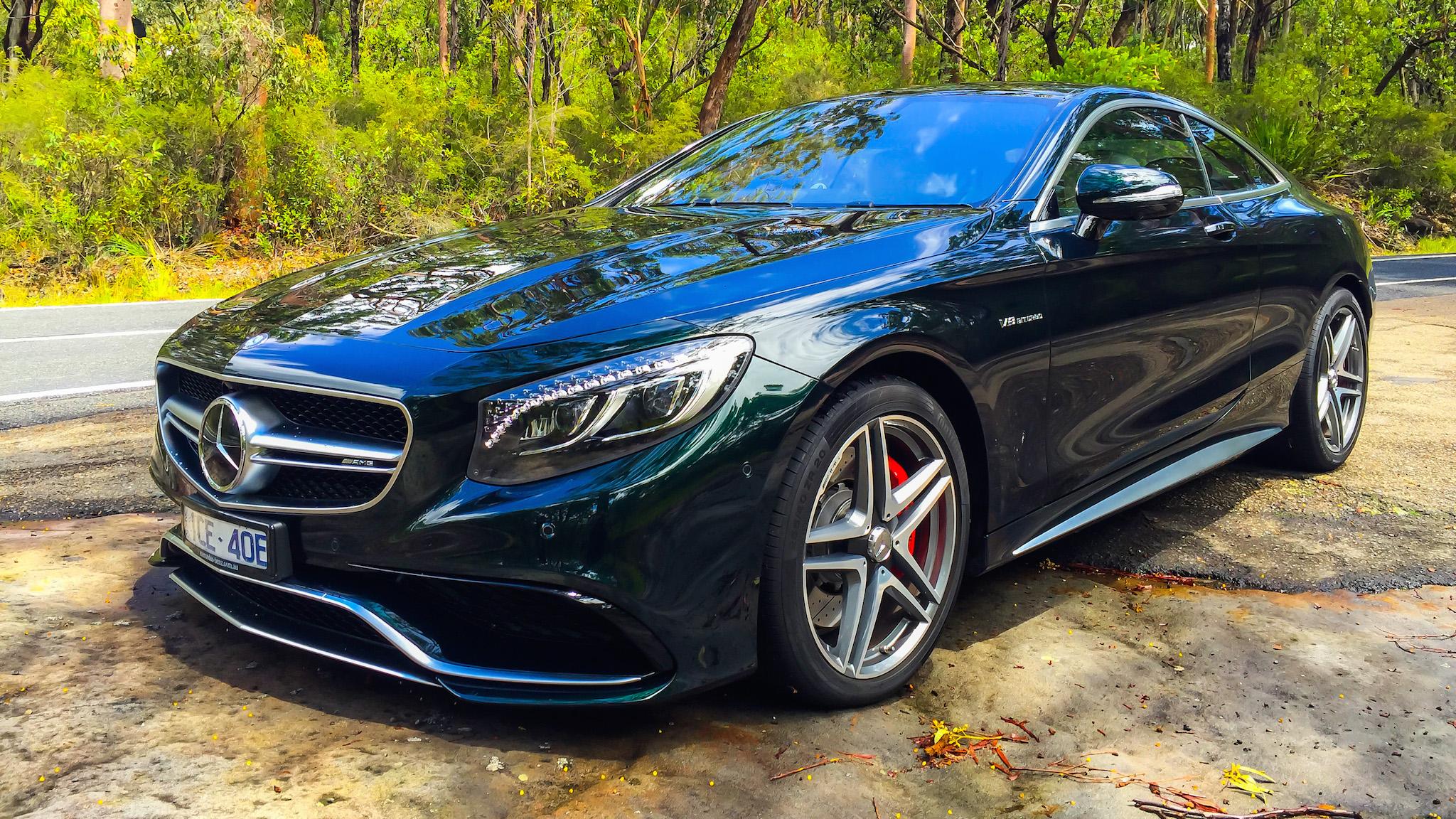 2015 Mercedes-Benz S63 AMG Coupe Review - photos | CarAdvice