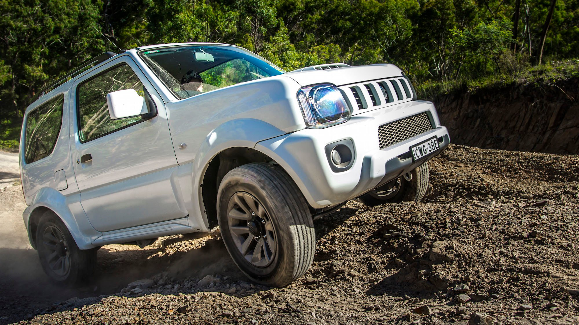 2015 suzuki jimny sierra review photos caradvice. Black Bedroom Furniture Sets. Home Design Ideas