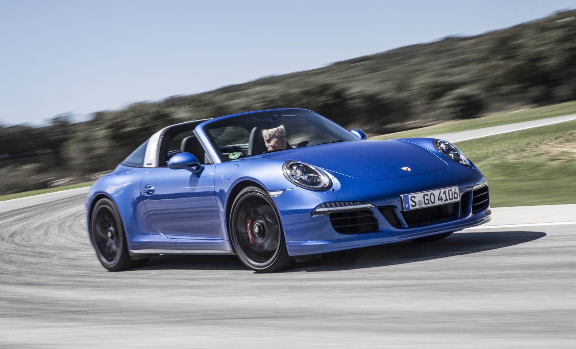 Porsche 911 Targa 4 Gts Officially Launches At Ascari
