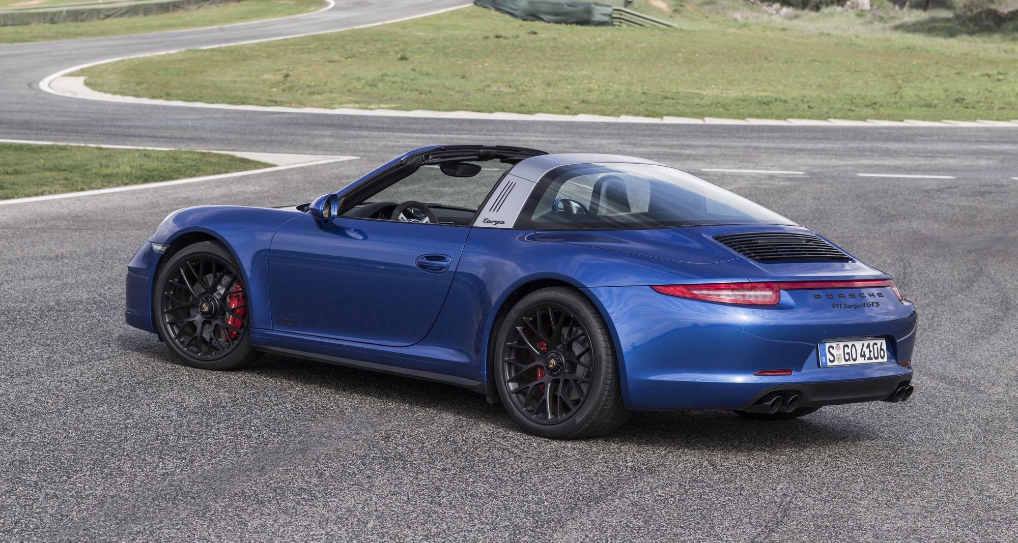 Porsche 911 Targa 4 GTS officially launches at Ascari ...