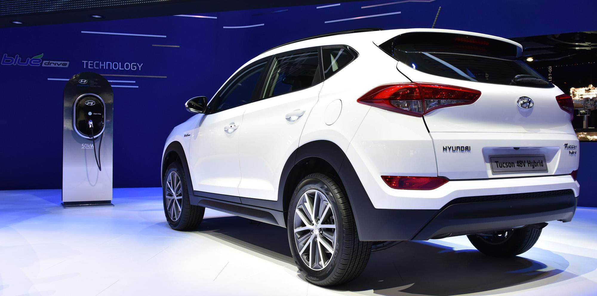 Hyundai Tucson 48v Hybrid Diesel Plug In Hybrid Concepts