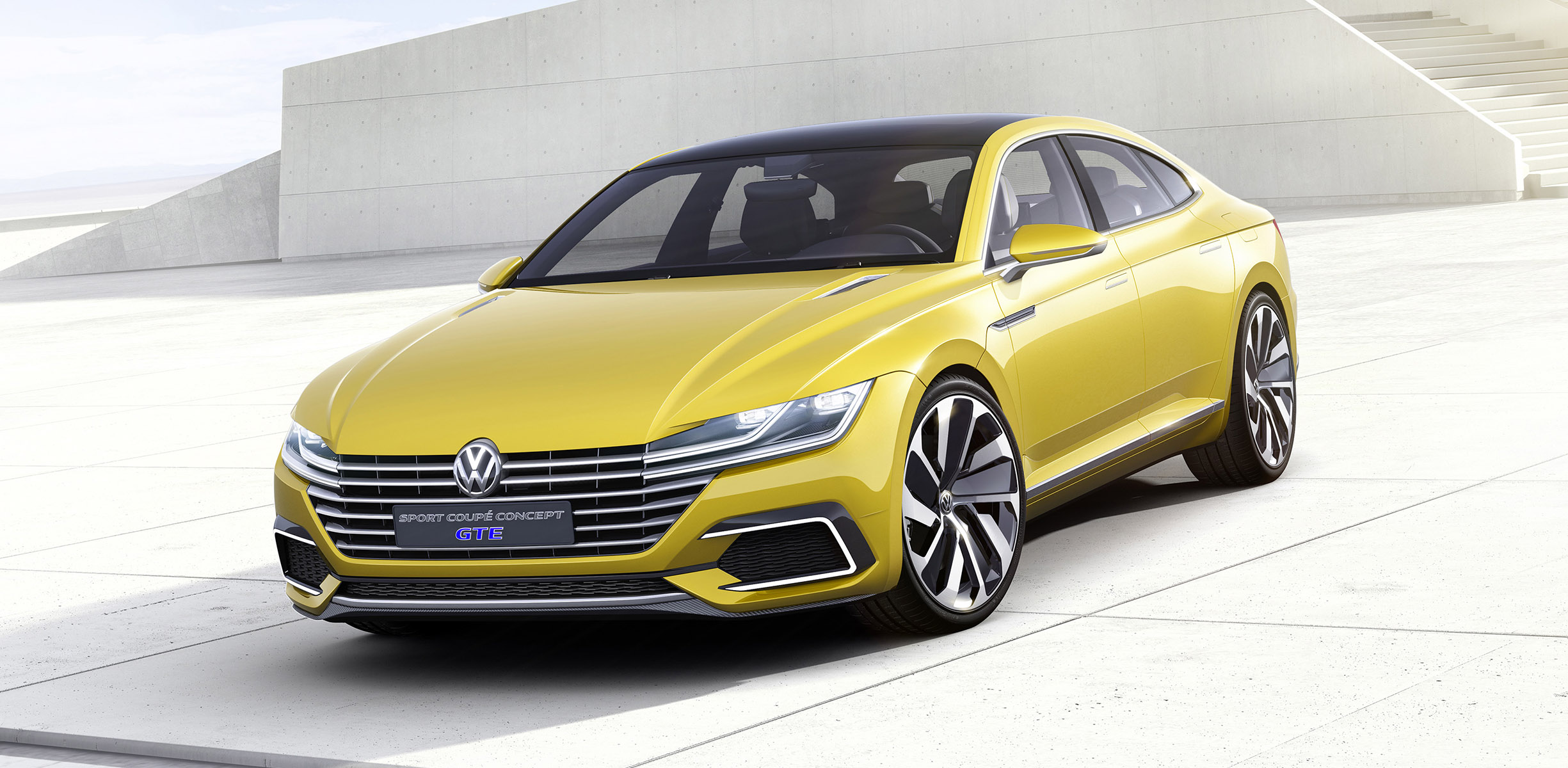 Volkswagen Sport Coupe Concept GTE Unveiled With V6 Plug In Hybrid  Drivetrain