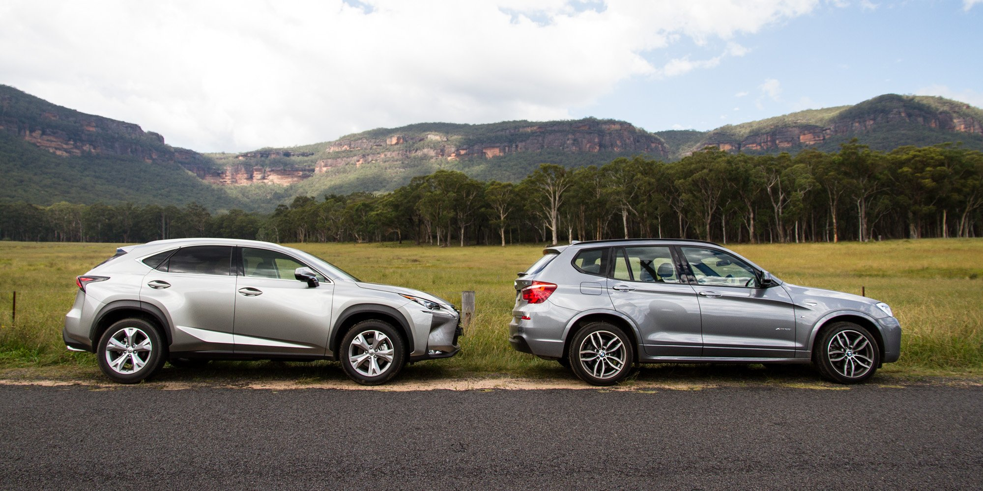 Bmw X3 Xdrive28i V Lexus Nx200t Sports Luxury Prestige Suv Comparison Test Photos