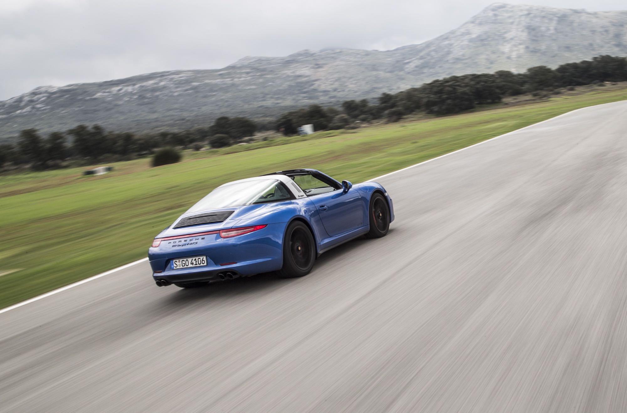 Porsche Driving School >> 2015 Porsche 911 Targa 4 GTS Review - photos | CarAdvice