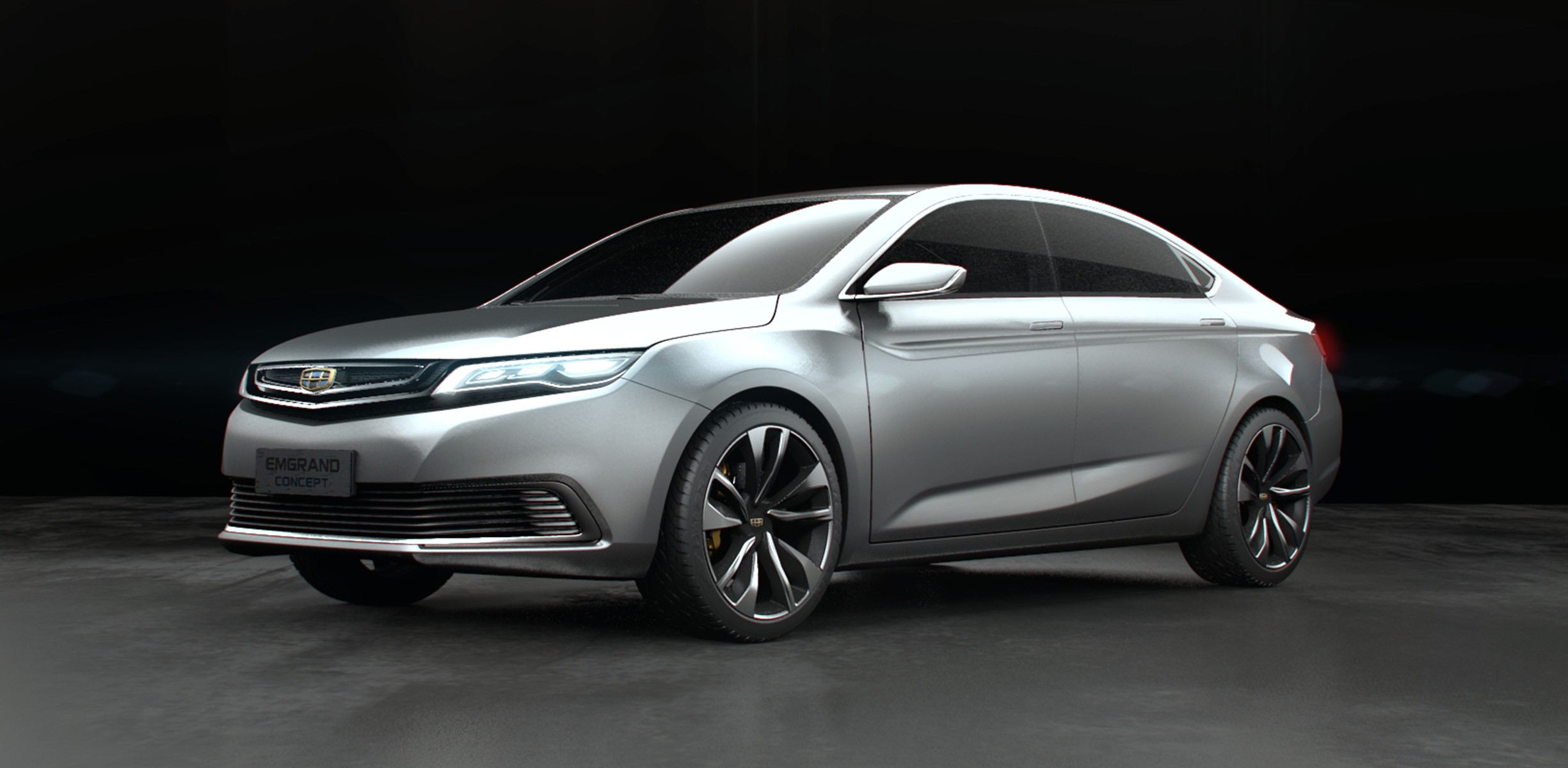 Geely Emgrand Concept unveiled in Shanghai - photos ...