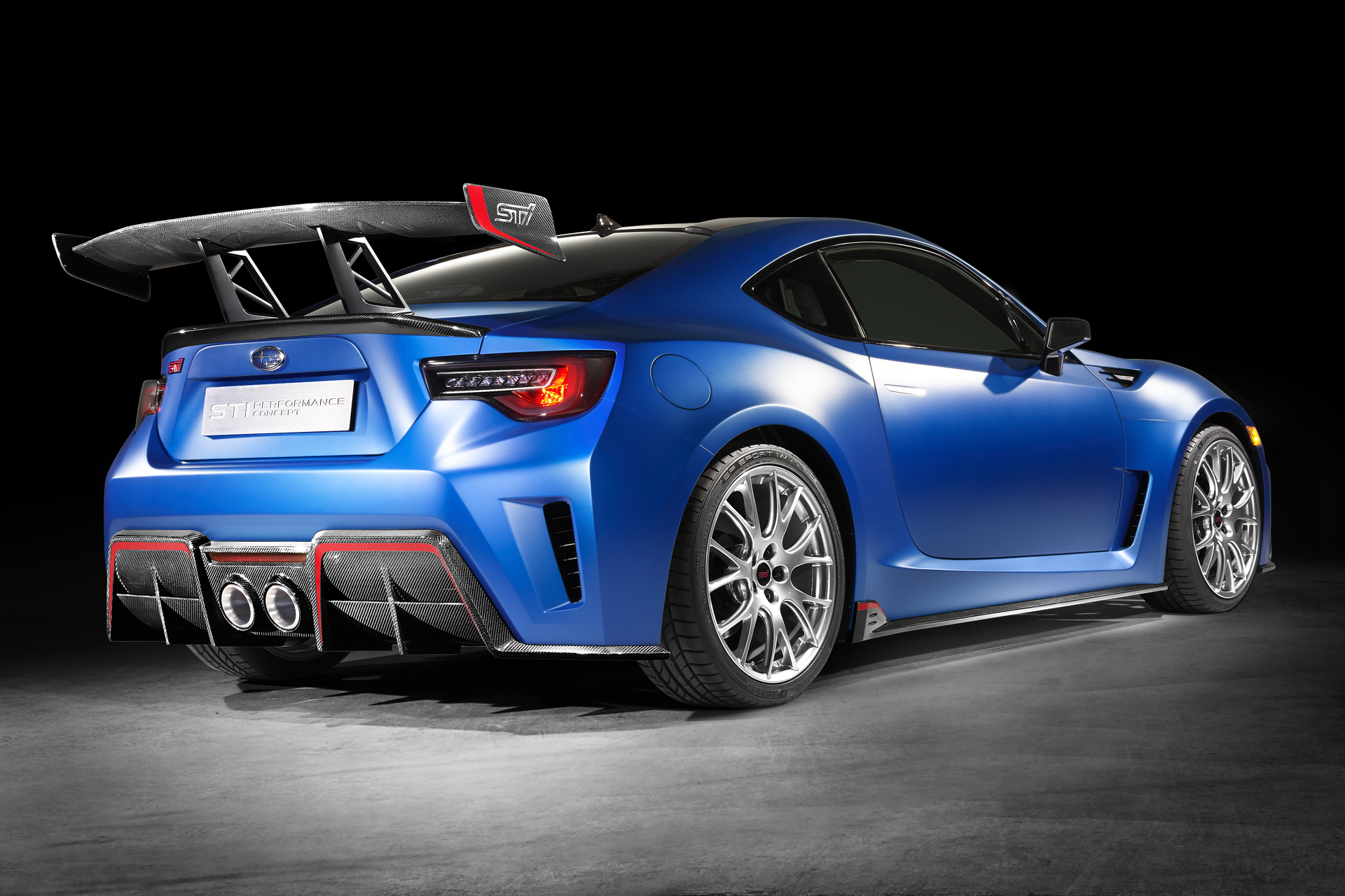 Subaru BRZ STI Performance Concept revealed with high ...