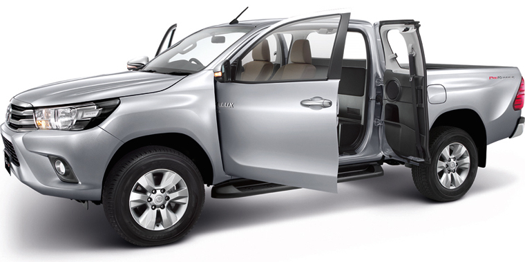 2016 Toyota Hilux Interior Additional Variants Revealed