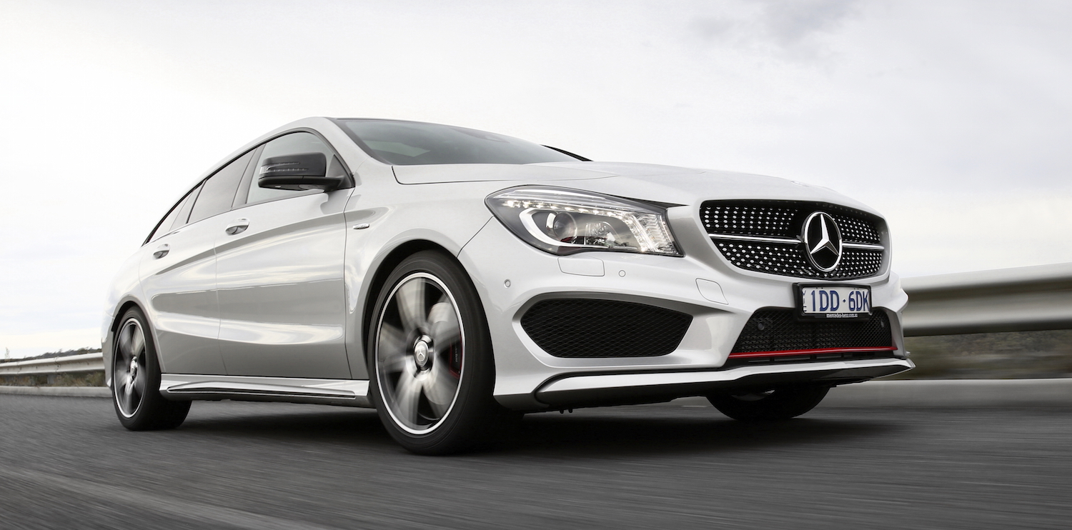 Mercedes benz cla shooting brake review photos caradvice for 2015 mercedes benz cla 250 price