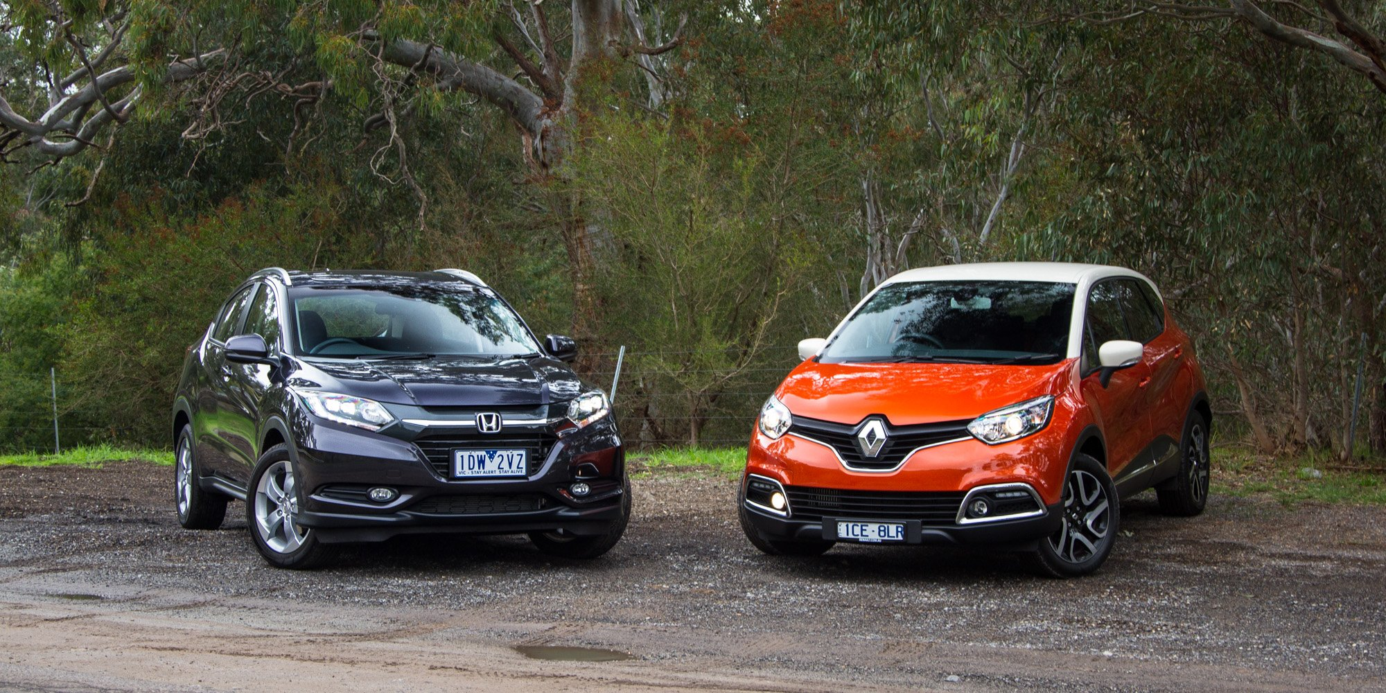 Cx 3 Vs Hrv >> Honda HR-V VTi-S v Renault Captur Dynamique : Comparison Review - Photos