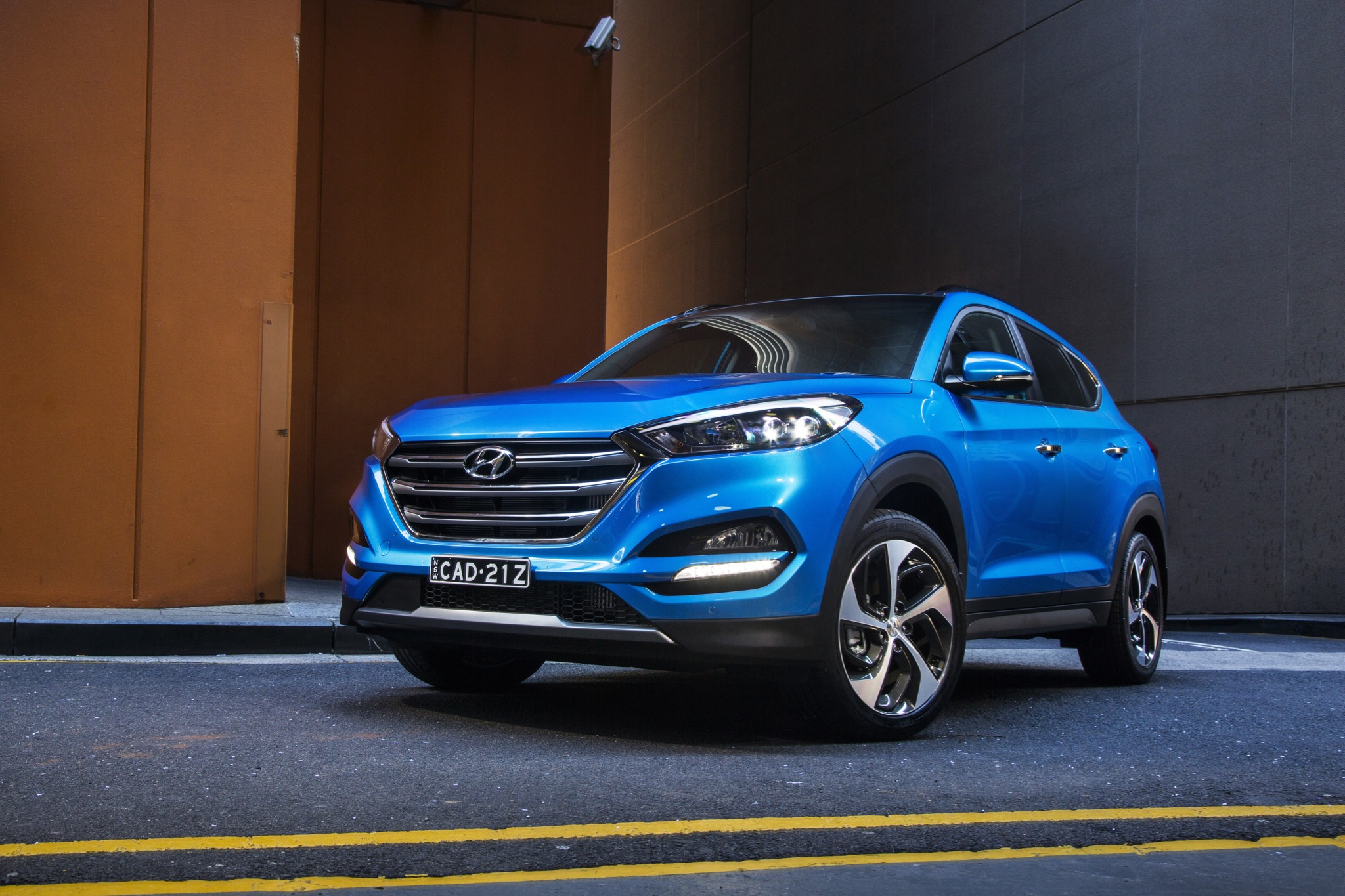 Honda Santa Fe >> 2016 Hyundai Tucson Review - photos | CarAdvice