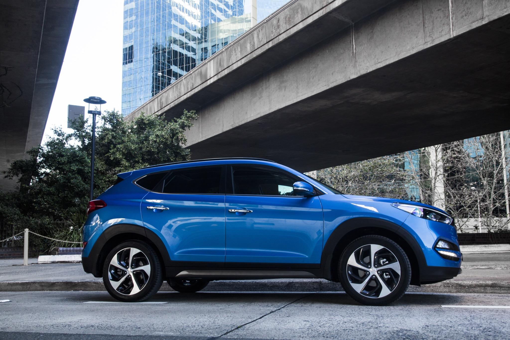 2016 Hyundai Tucson Review - Photos