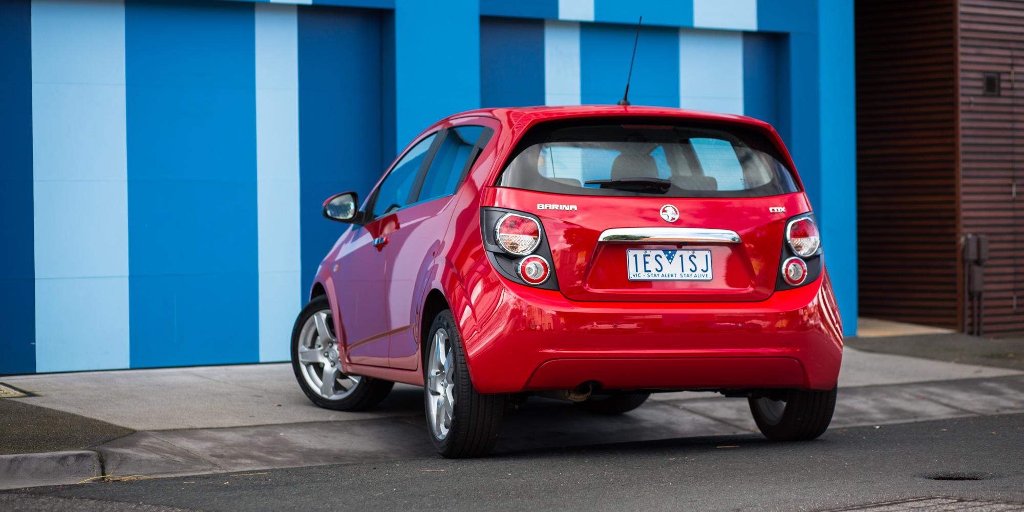 2016 Holden Barina CDX Review - photos   CarAdvice