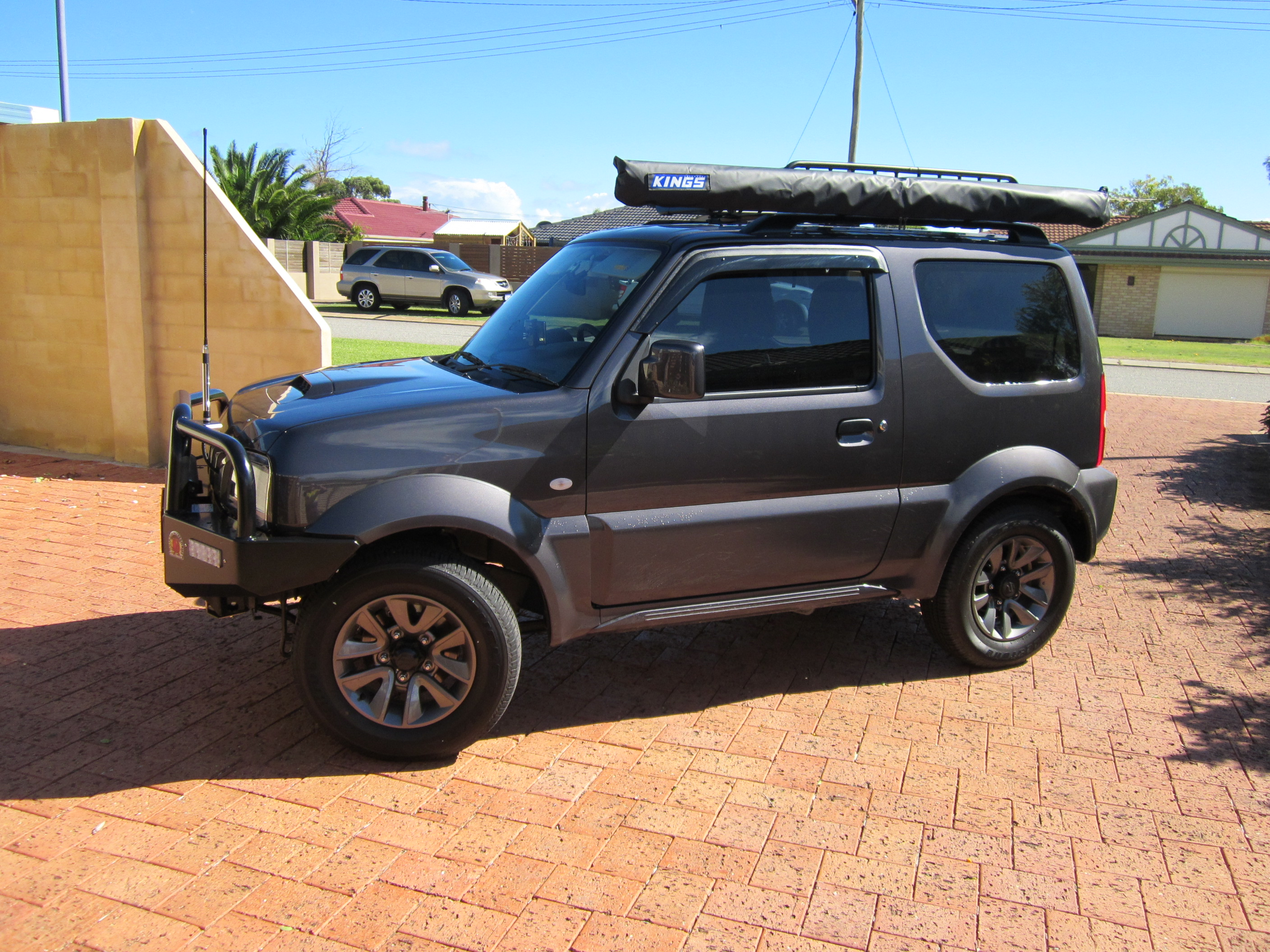 new suzuki jimny sierra to remain a hardcore ladder frame 4x4 photos caradvice. Black Bedroom Furniture Sets. Home Design Ideas