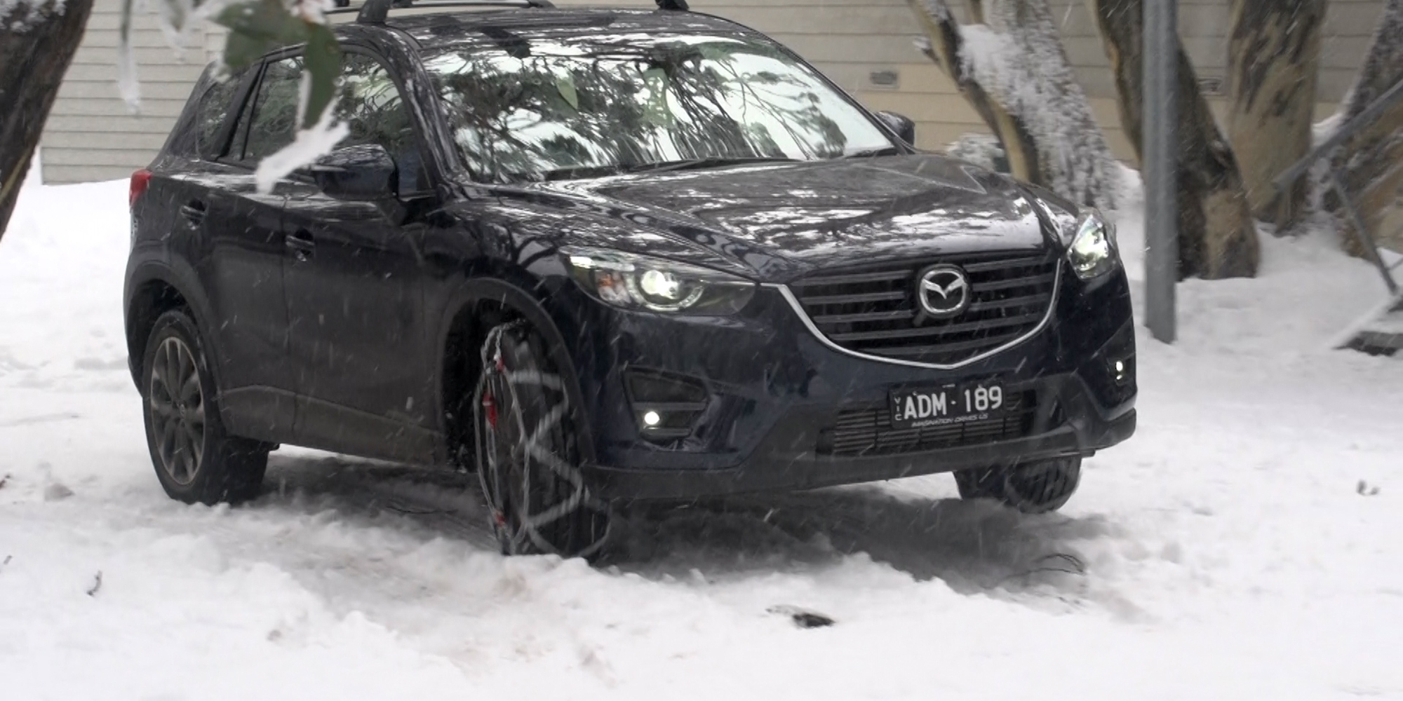 top 10 tips for driving to the snow 2015 mazda cx 5 akera photos. Black Bedroom Furniture Sets. Home Design Ideas