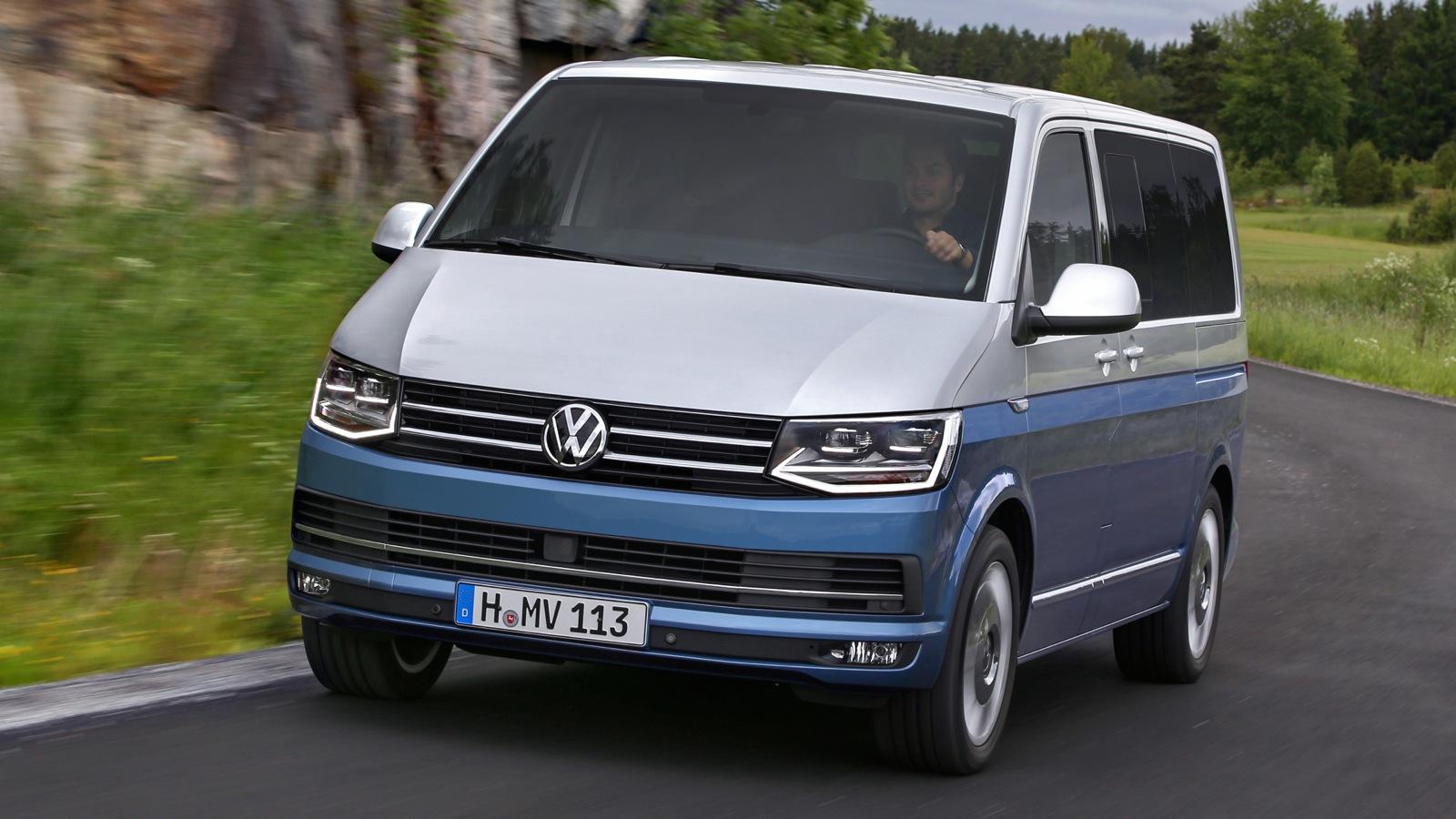 Volkswagen Multivan Generation Six Review photos