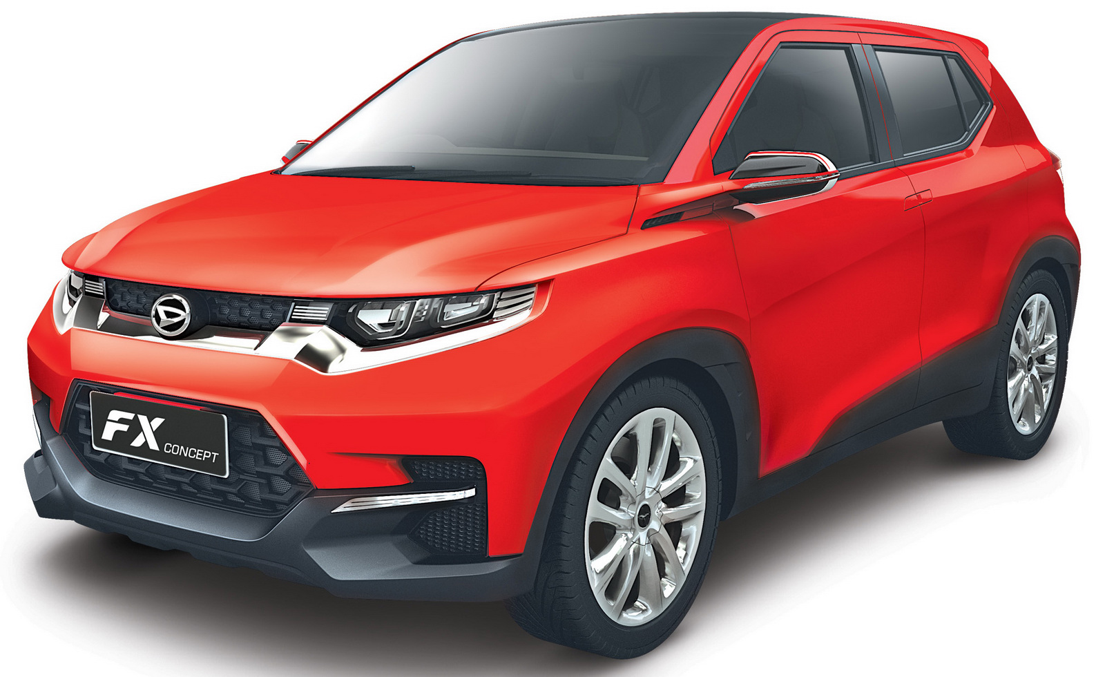 Daihatsu Badge >> Daihatsu FX SUV concept revealed for Asia: Toyota badge possible for Australia? - photos | CarAdvice