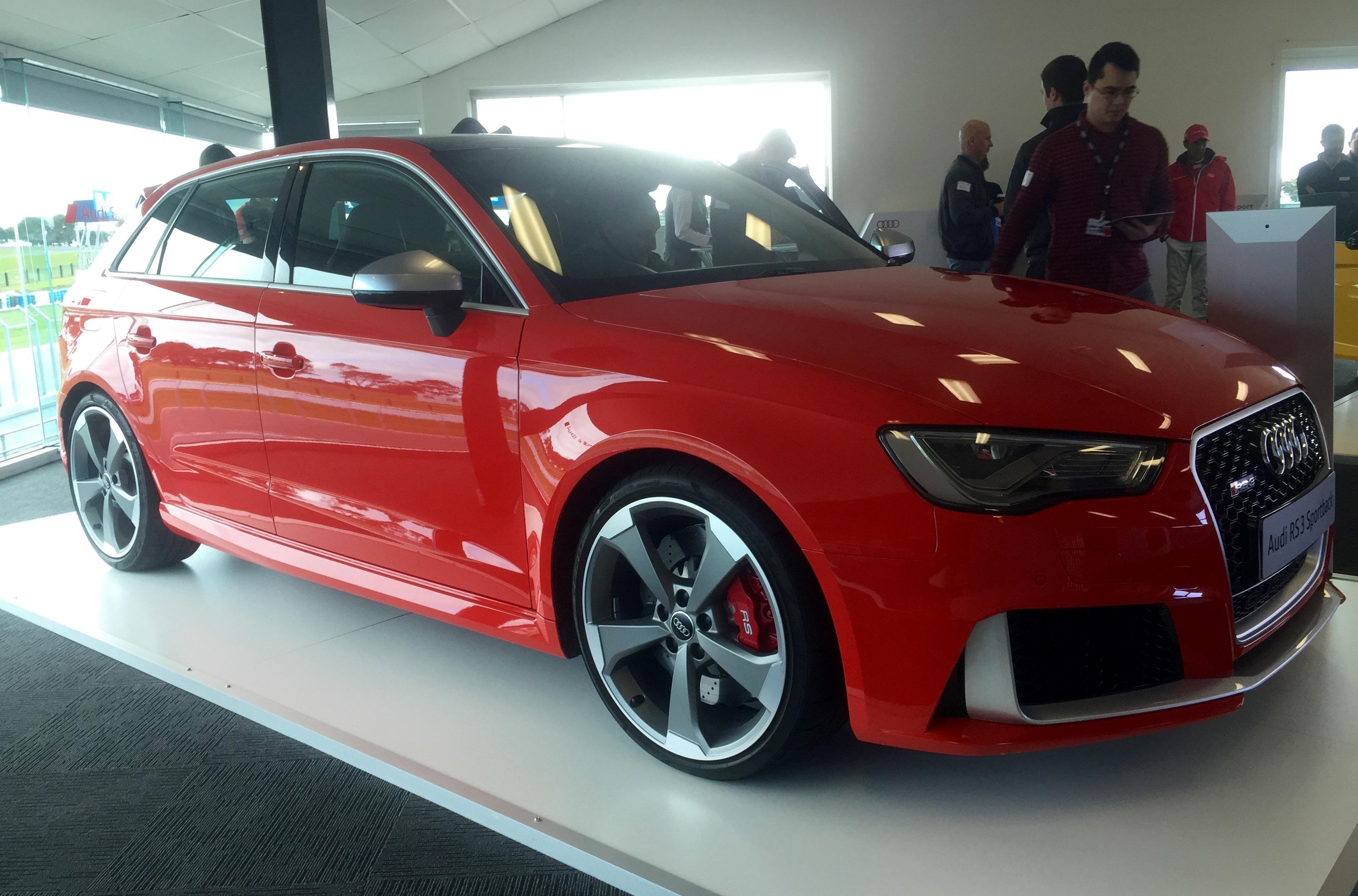 2016 Audi Rs3 Sportback Already Has 400 Pre Orders