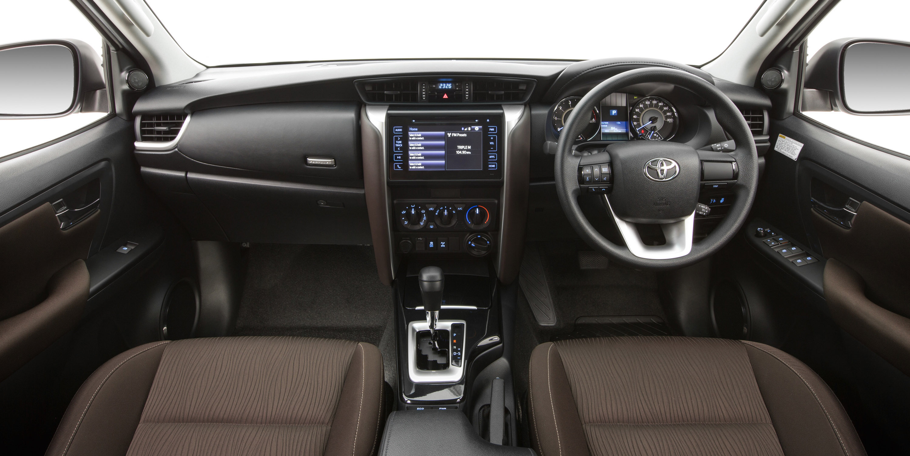 2014 Toyota Corolla For Sale >> 2016 Toyota Fortuner interior revealed - photos | CarAdvice