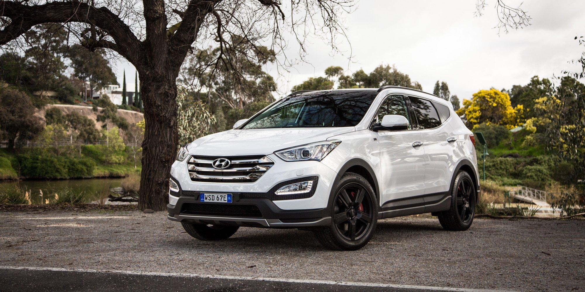 2016 Hyundai Santa Fe >> 2016 Hyundai Santa Fe SR Review | CarAdvice