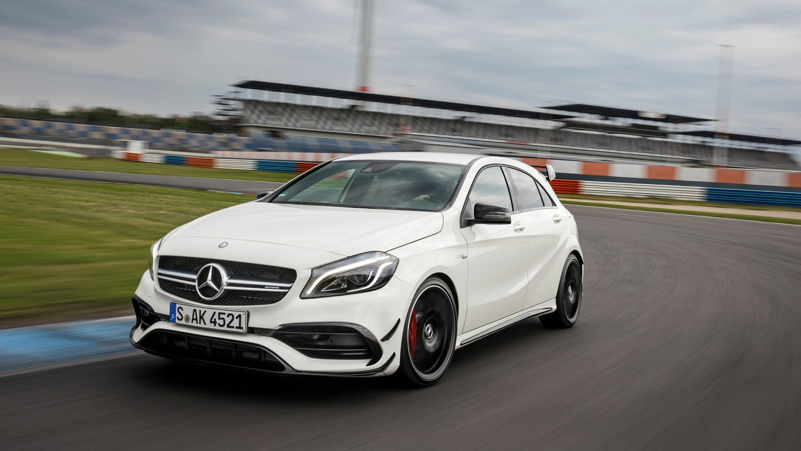 2016 Mercedes Amg A45 4matic Review Track Test Photos Caradvice