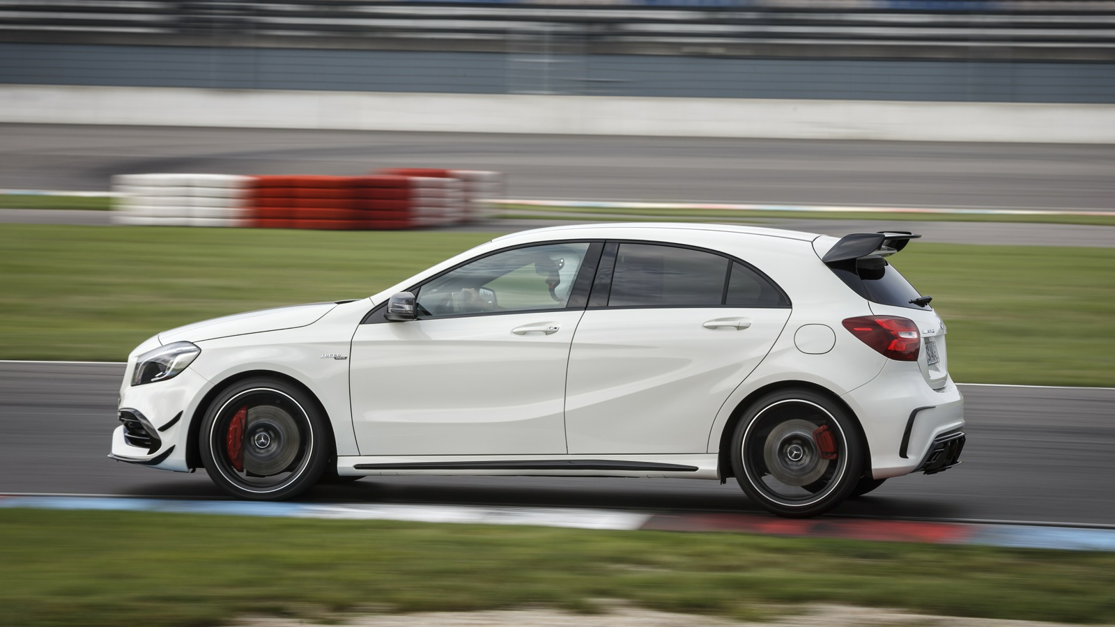 2016 mercedes amg a45 4matic review track test photos for Mercedes benz a 45 amg 4matic