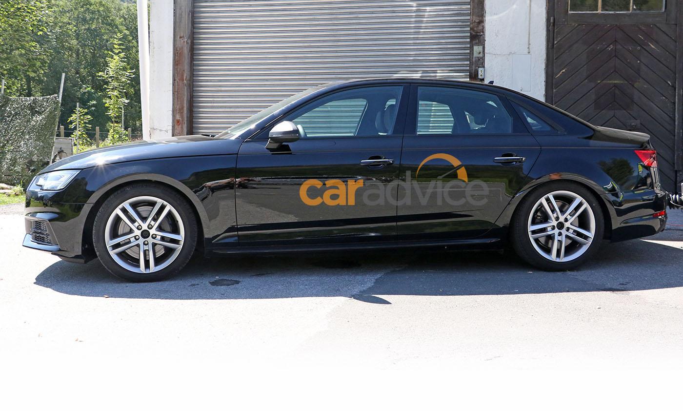 audi  sedan spied  camouflage frankfurt debut expected  caradvice