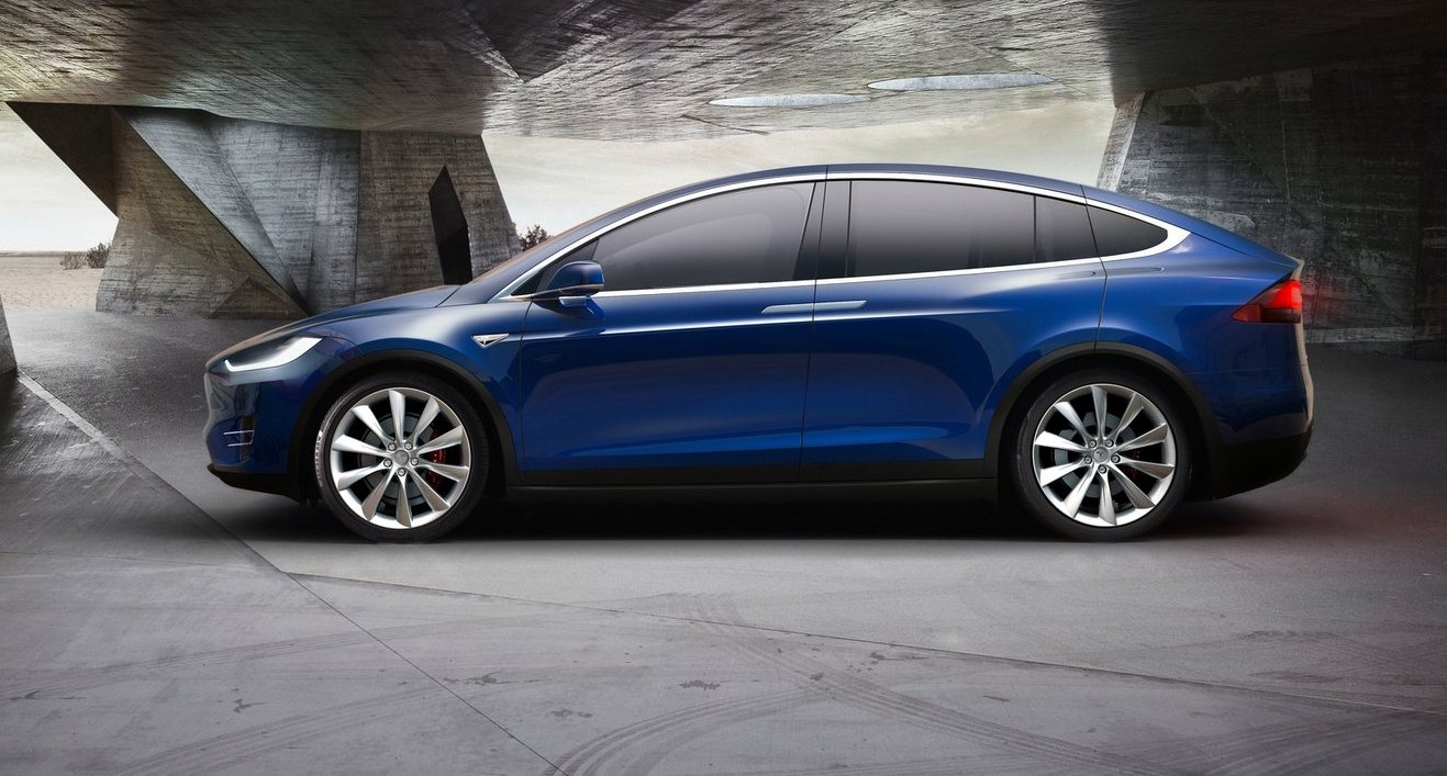 Tesla Model X Revealed Ahead Of Australian Debut 7 Seats