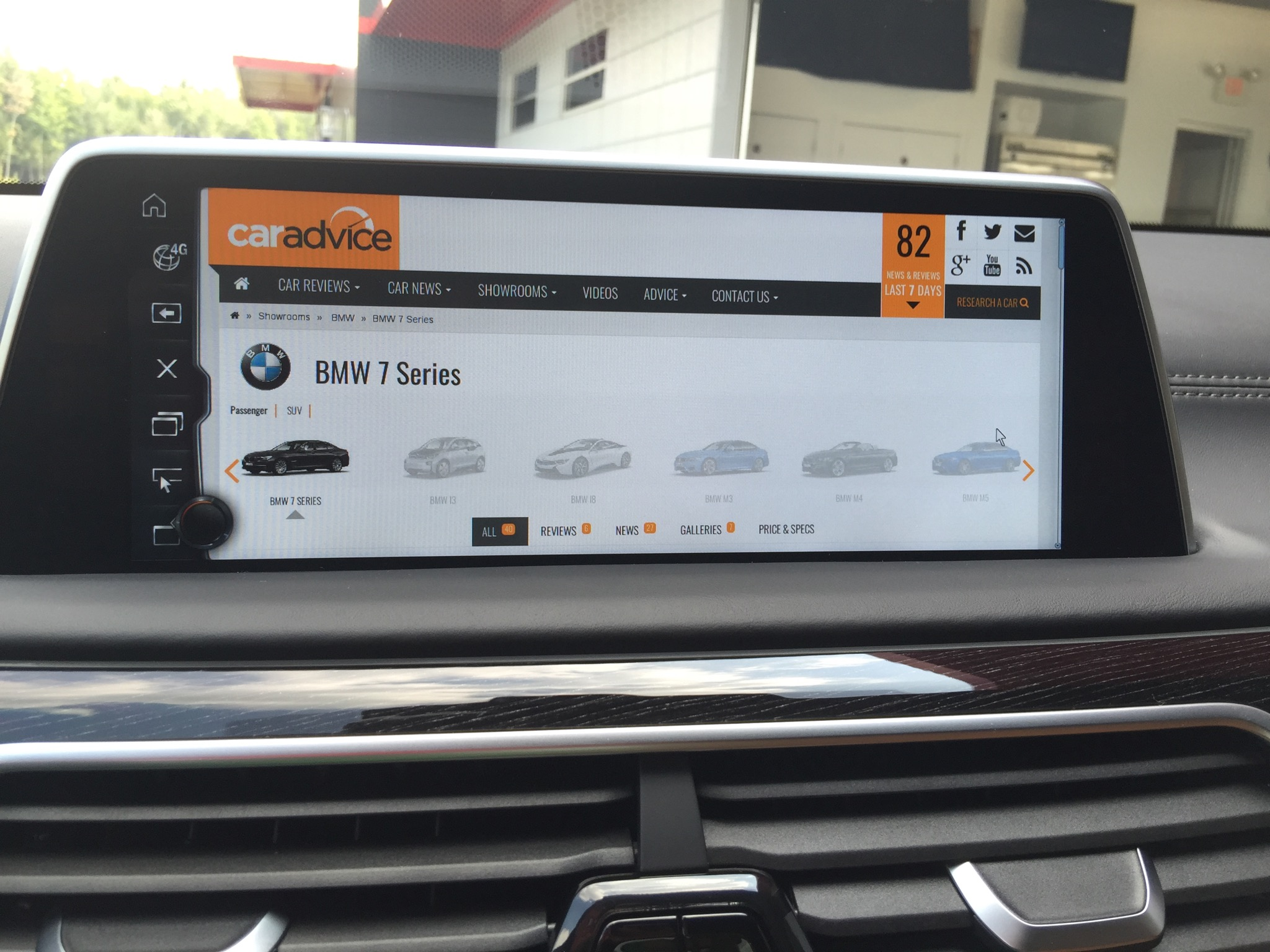 Bmw Idrive 5 0 Review Photos Caradvice