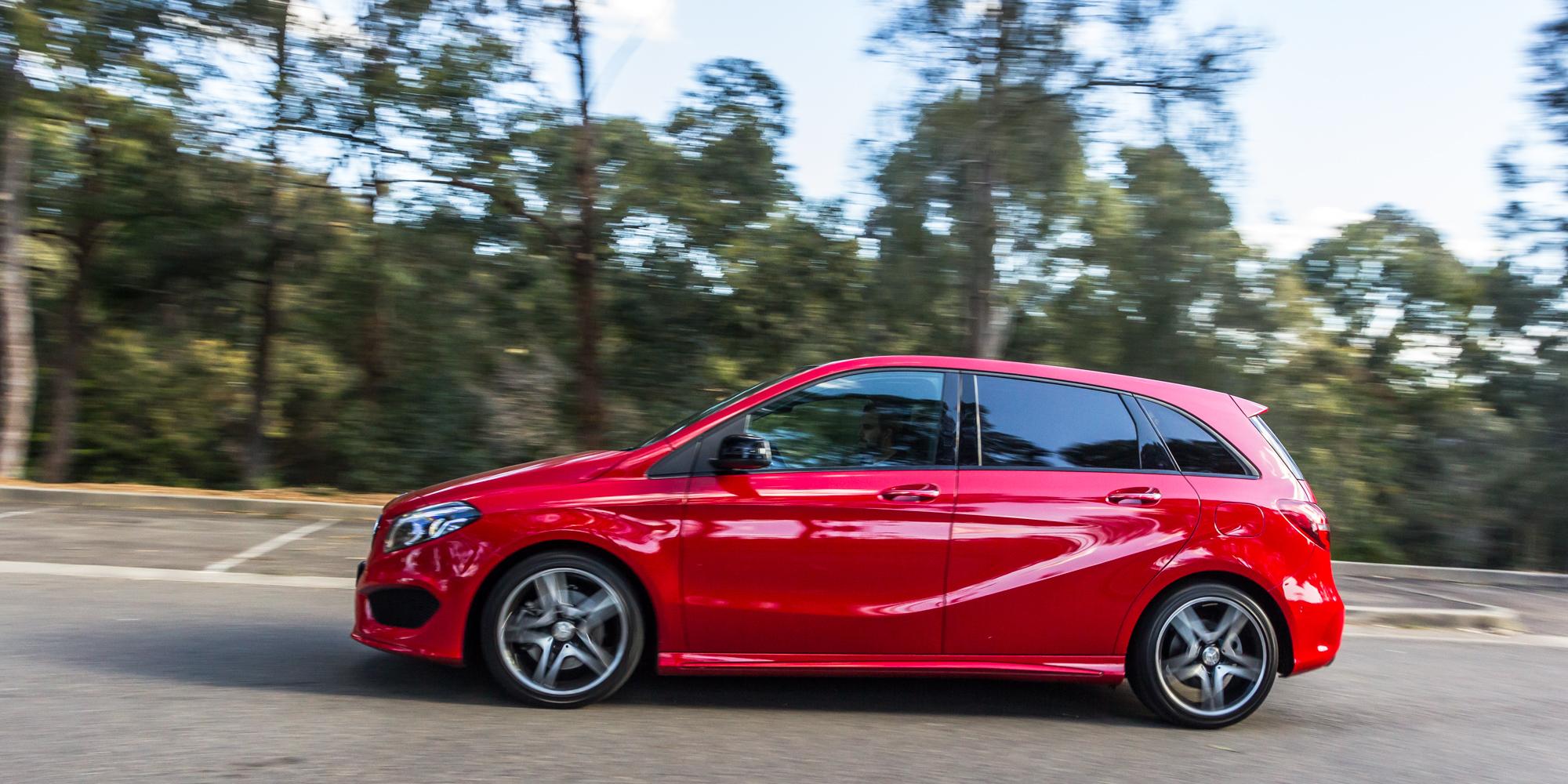 Mercedes benz small car comparison a class v b class v for Mercedes benz private sellers