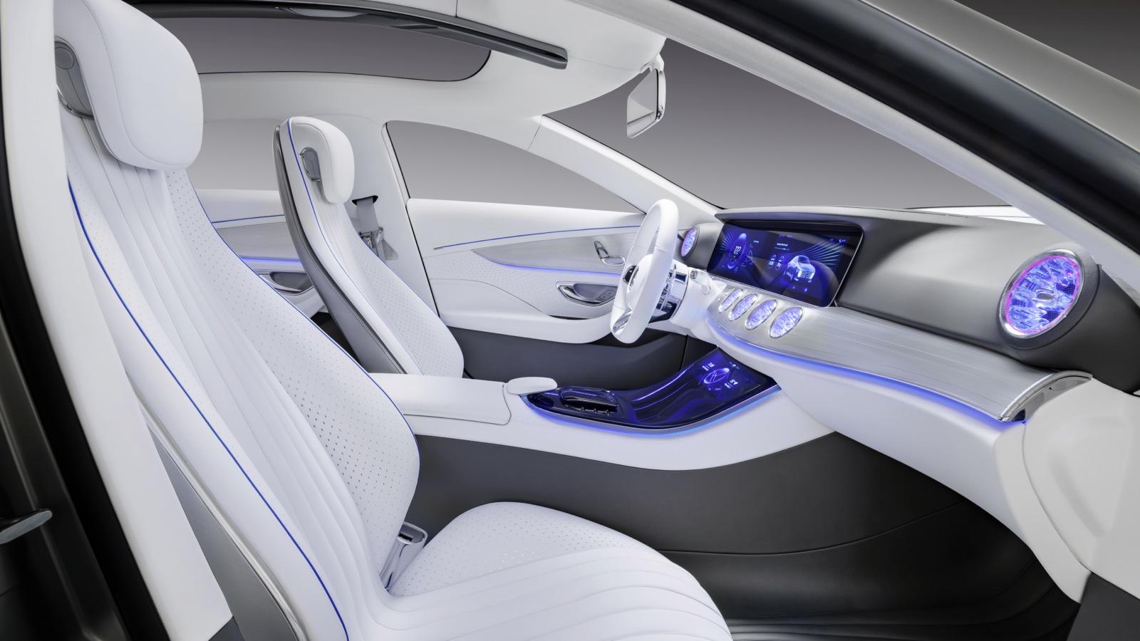2016 mercedes benz e class interior previewed by concept for E interior design