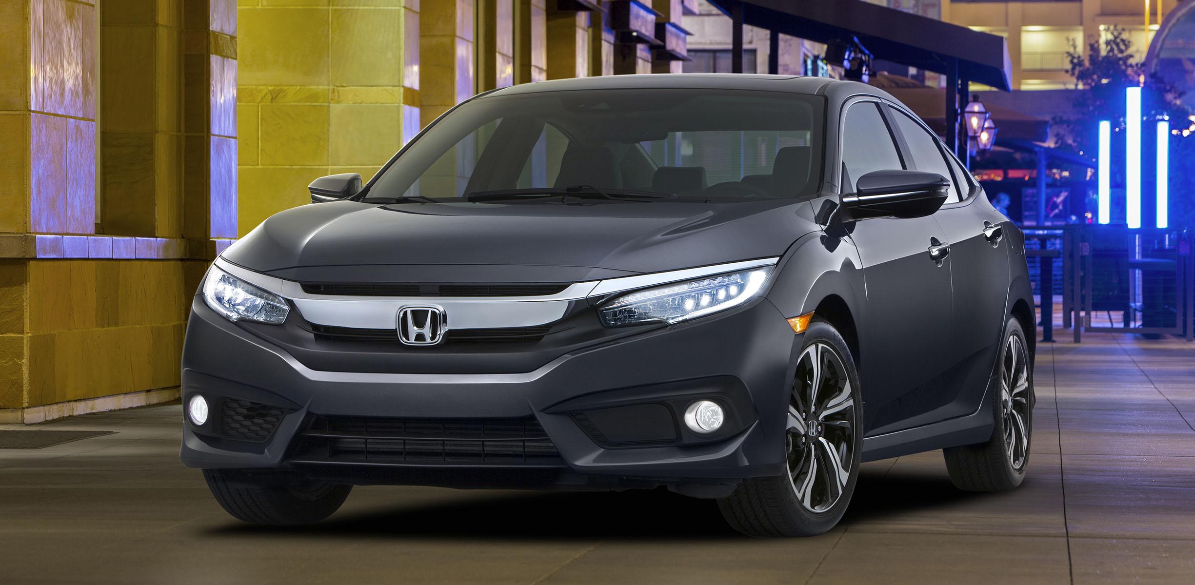 Lovely 2016 Honda Civic Sedan Unveiled Nice Look